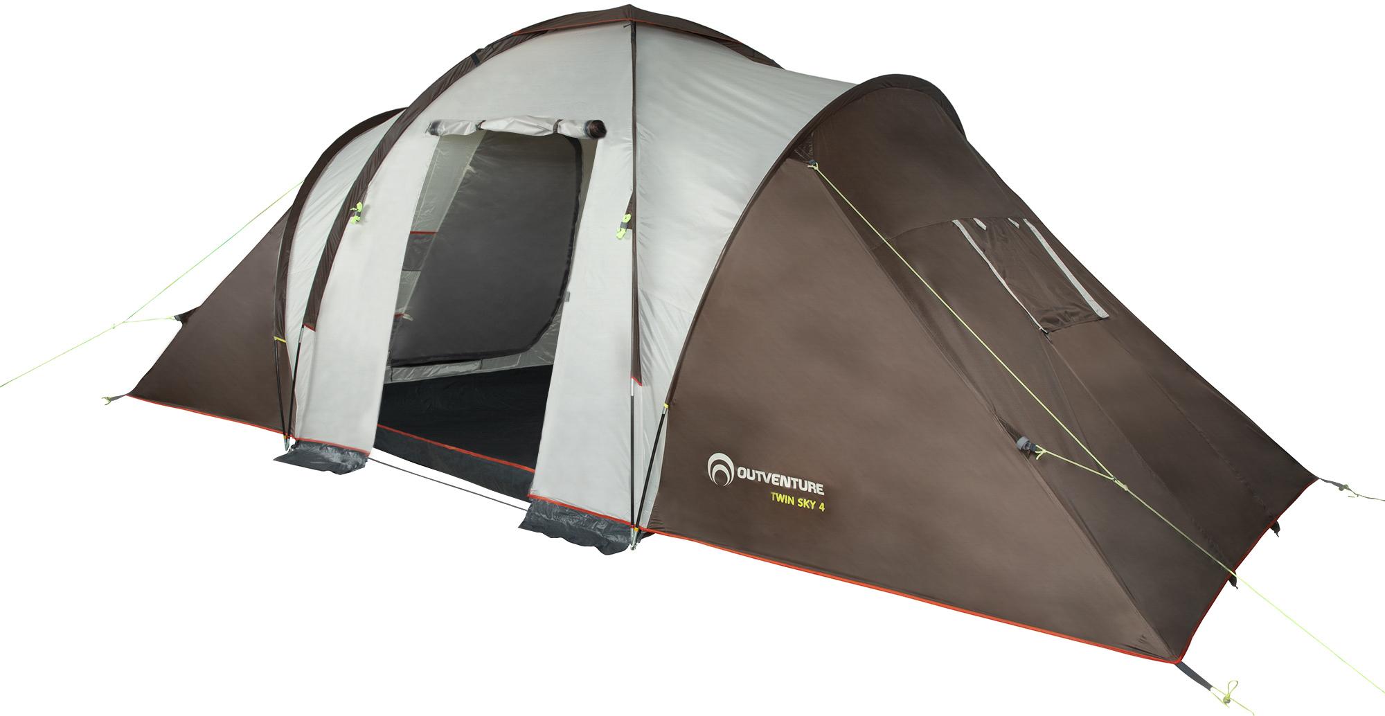 Outventure Tourist tent TWIN SKY 4 outventure outventure twin sky 4 basic
