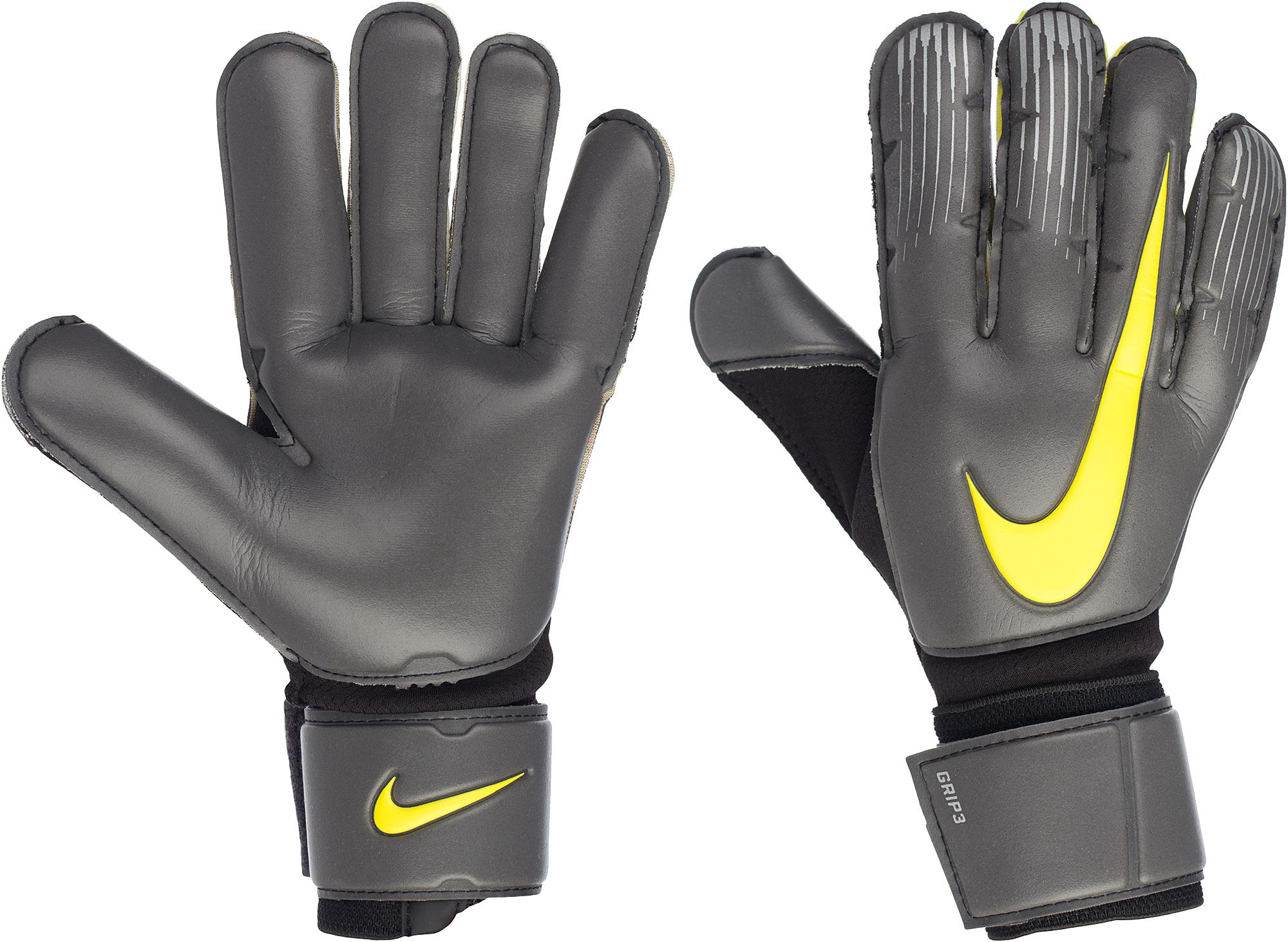 Nike Перчатки вратарские Nike Grip3 Goalkeeper, размер 10