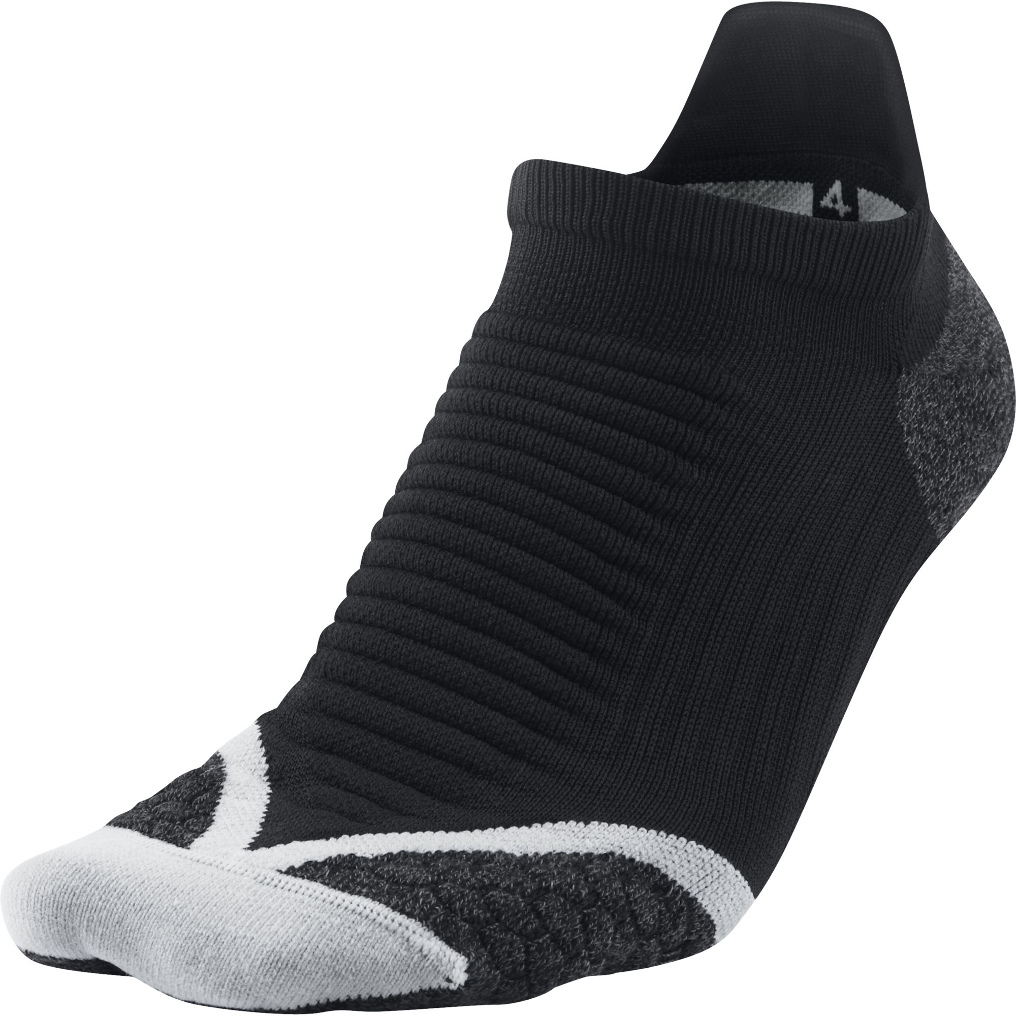 Nike Носки Nike Elite Cushioned No-Show Tab, 1 пара чулок д щитков nike guard lock elite sleeve su12 se0173 011 m чёрный