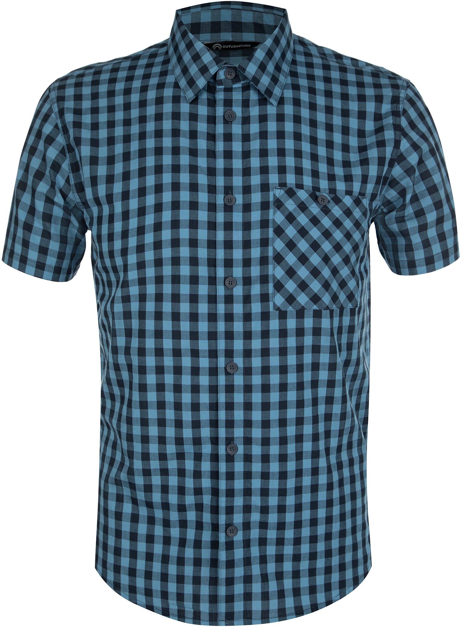 цена на Outventure Рубашка с коротким рукавом мужская Outventure, размер 54