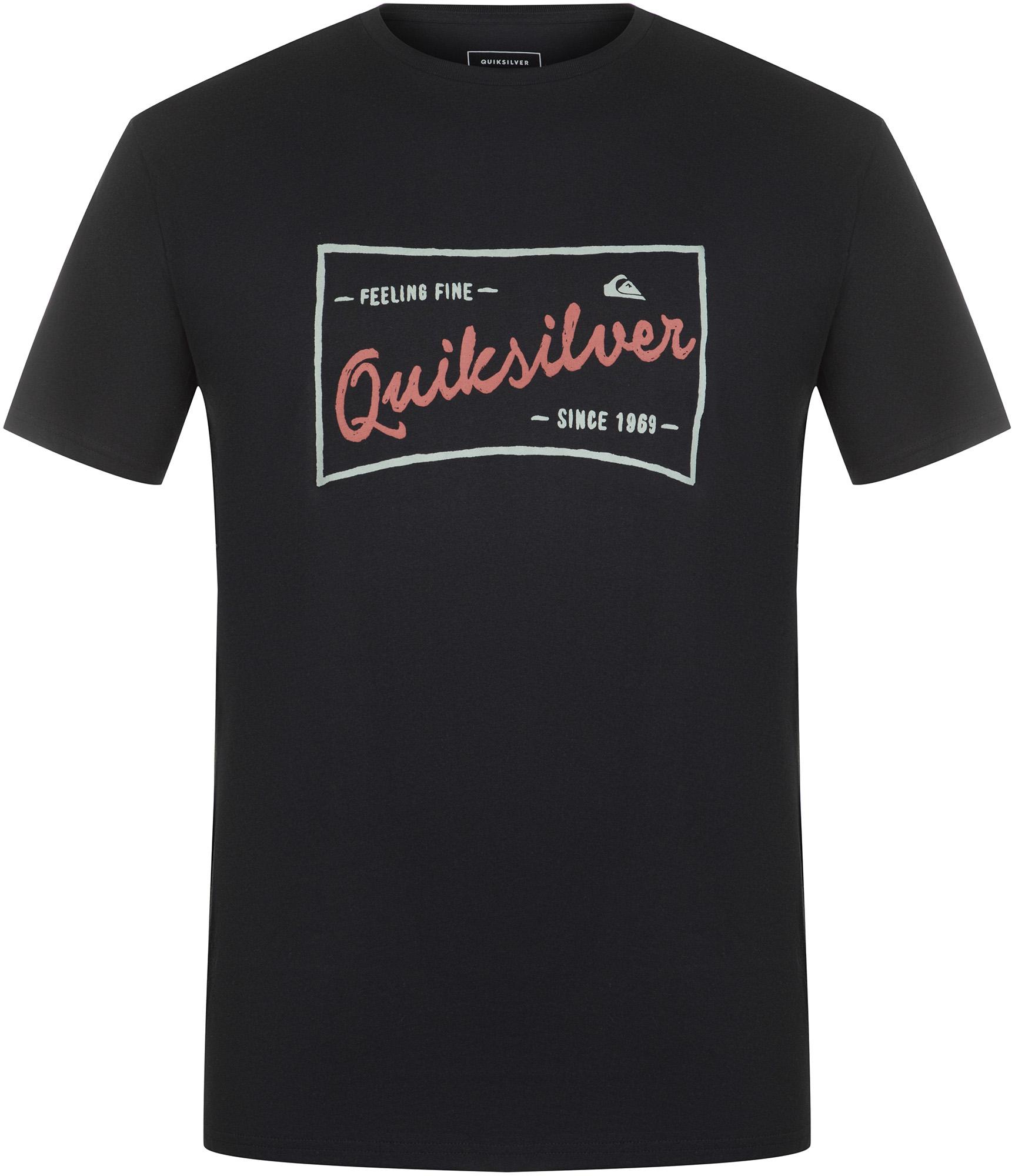 Quiksilver Футболка мужская Quiksilver Flaxton, размер 54-56