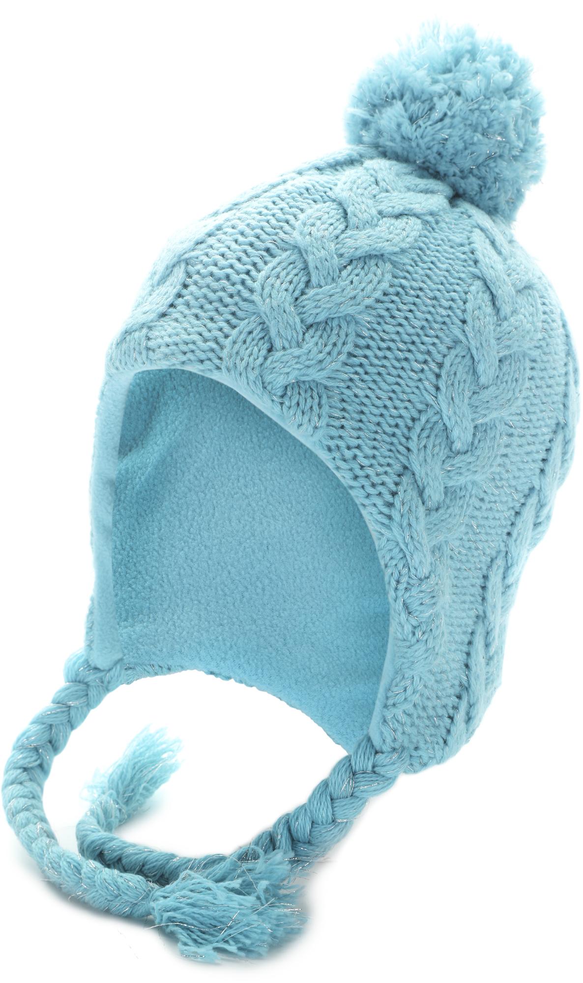 Glissade Шапка для девочек Glissade, размер 54 шапочки и чепчики acoola шапка детская для девочек mol