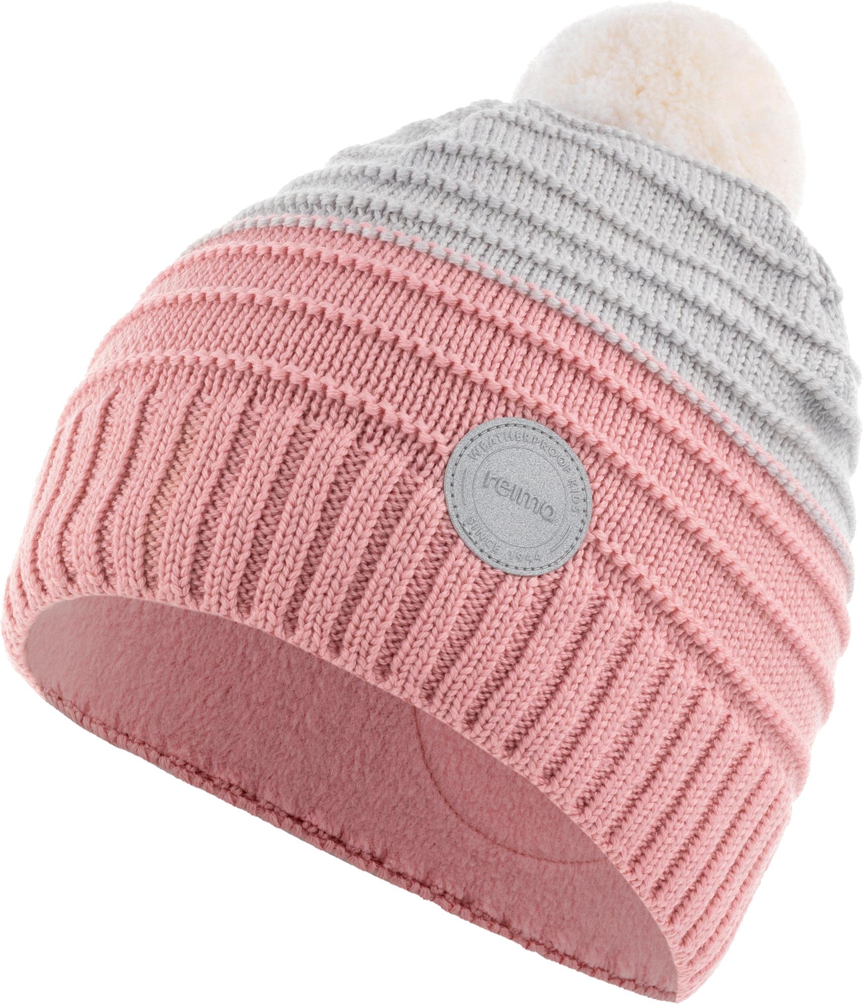 Фото - Reima Шапка вязаная для девочек Reima, размер 56 шапка reima reima re883cbadqd3
