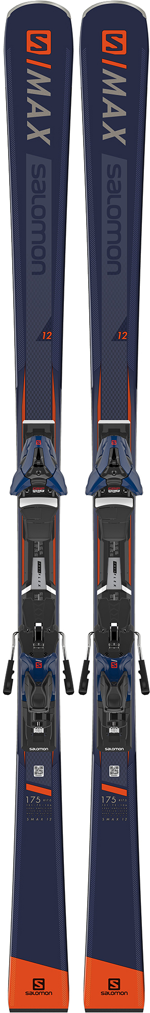 Salomon Salomon E S/MAX 12 + E Z12 WALK (18/19), размер 165 цена 2017
