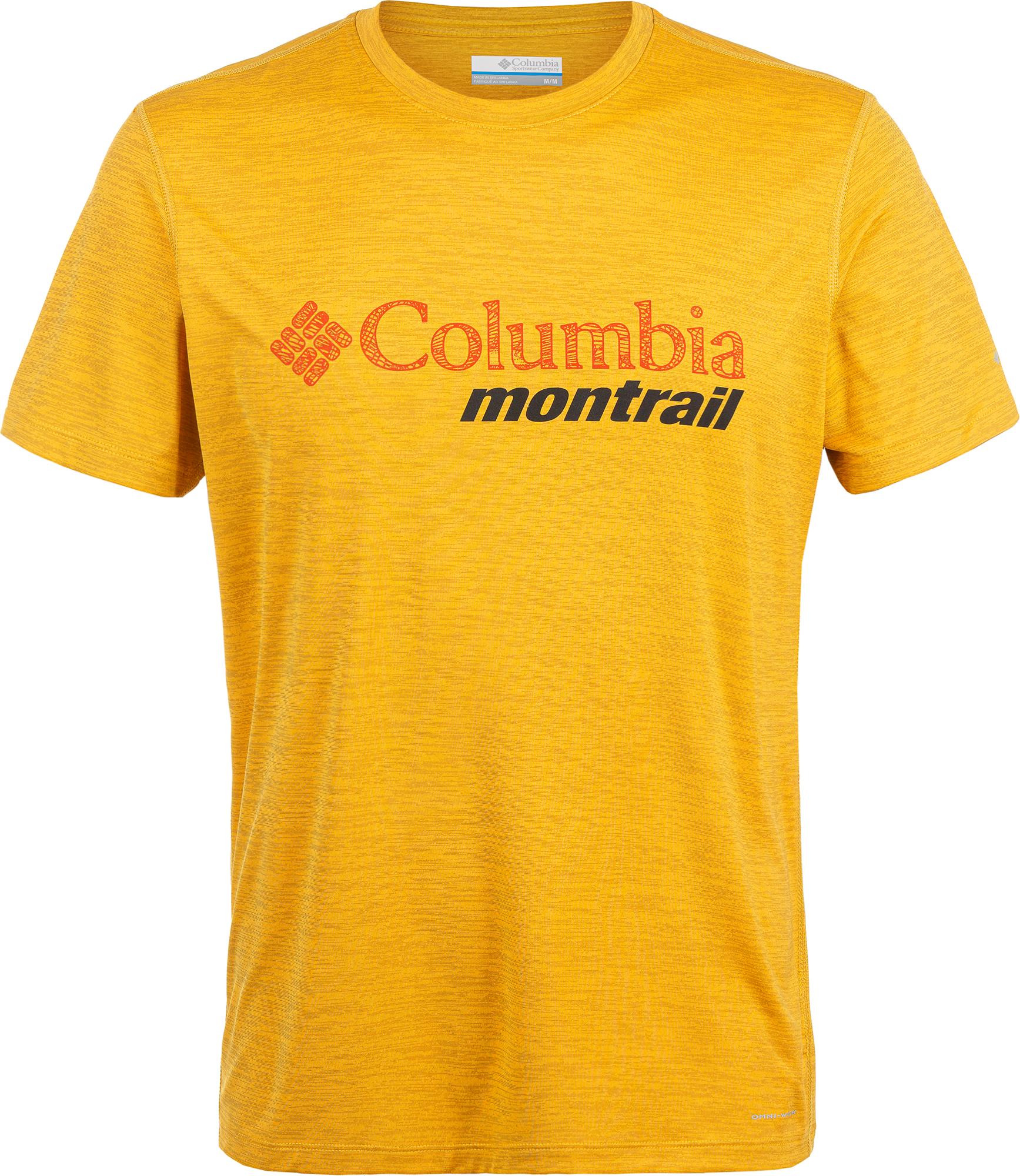 Columbia Футболка мужская Columbia Trinity Trail, размер 50-52 цена