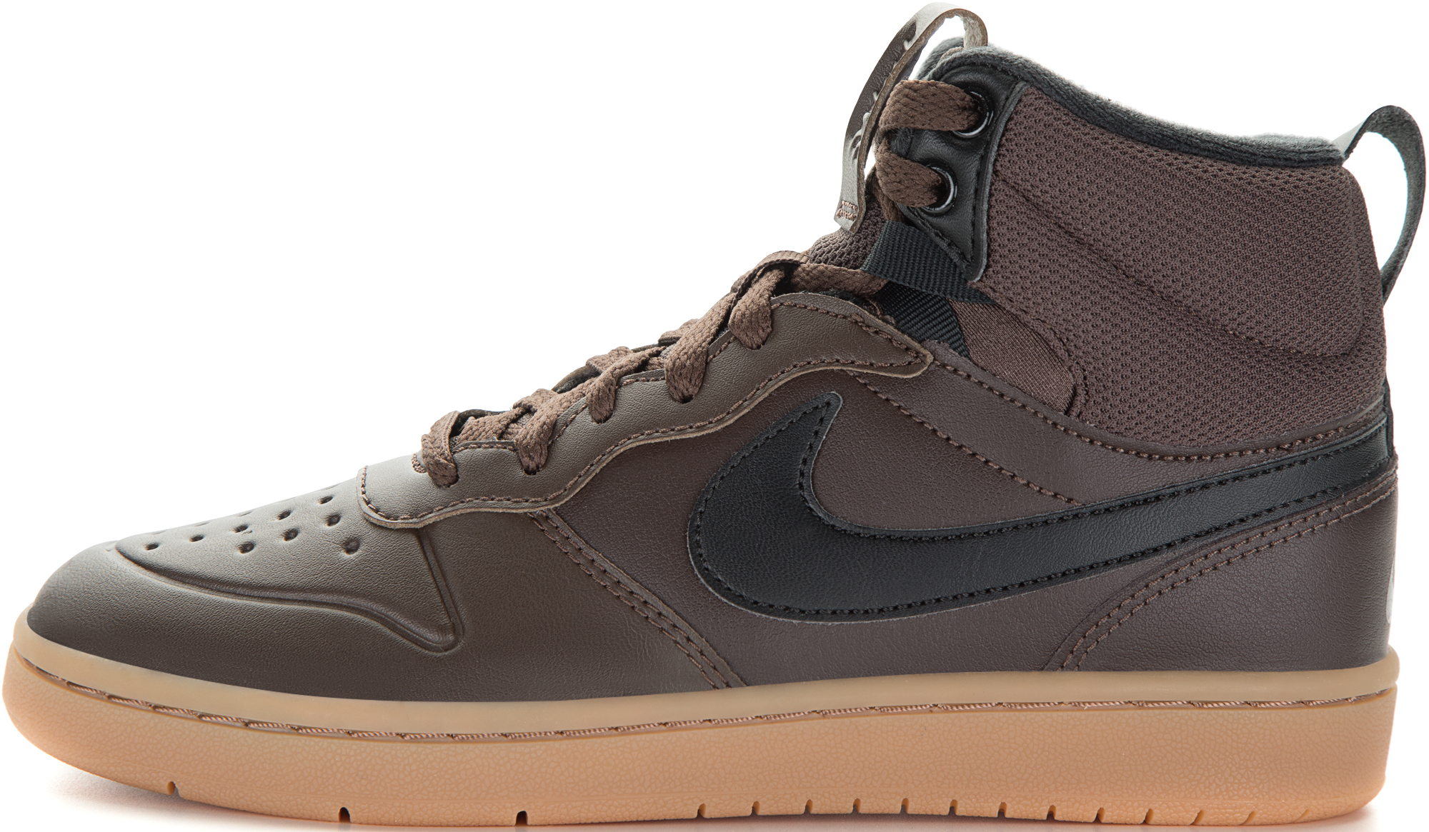 Nike Кеды для мальчиков Nike Court Borough Mid 2 Boot, размер 34,5 кеды nike кеды nike court borough mid td
