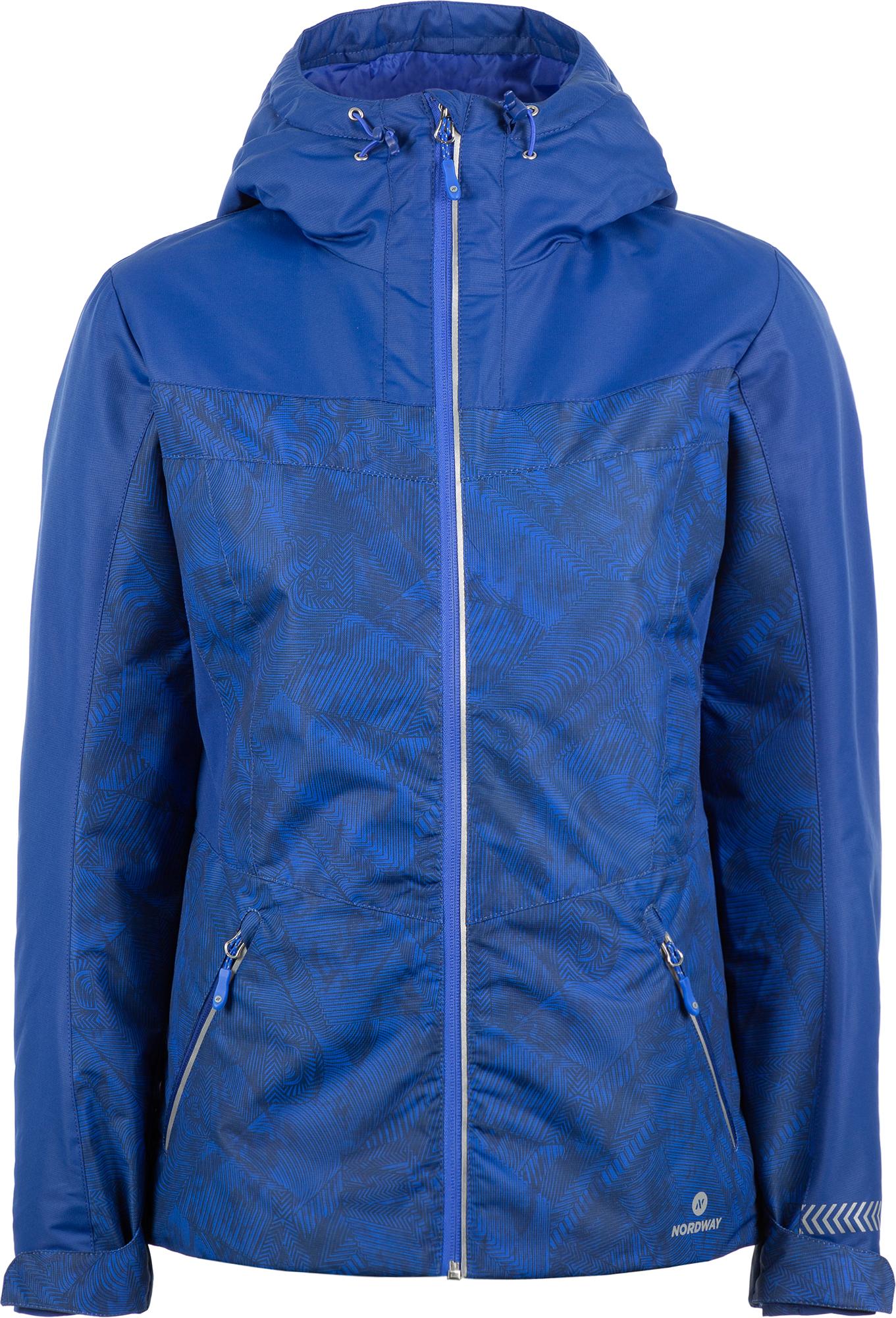 Nordway Куртка утепленная женская Nordway, размер 50 куртка женская oodji ultra цвет бежевый 10304291 19781 3300n размер 34 170 40 170