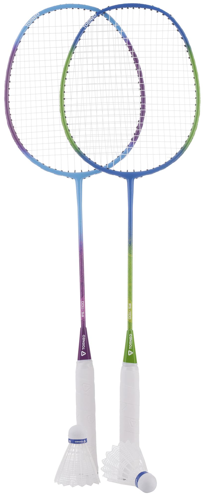 Torneo Набор для бадминтона Torneo (2 ракетки, 2 волана, чехол) torneo набор для бадминтона torneo размер без размера