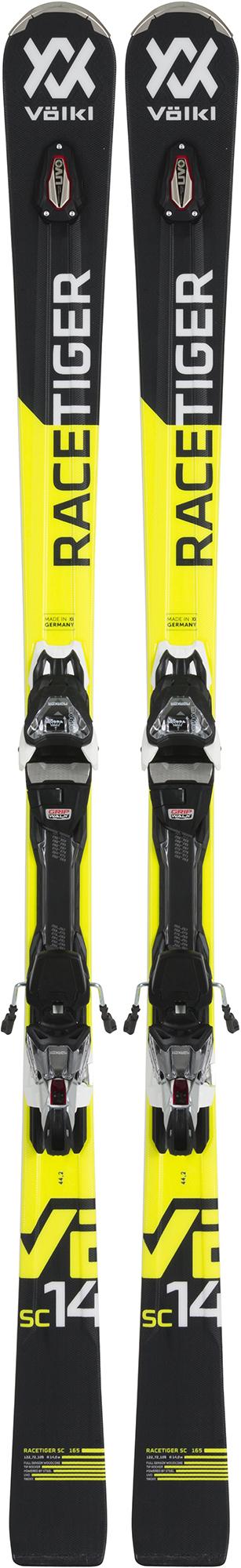 Volkl Volkl Racetiger SC black + VMotion 11 GW (18/19), размер 170 лыжи крепления volkl volkl flair 73 vmotion 9 gw lady 17 18 размер 153