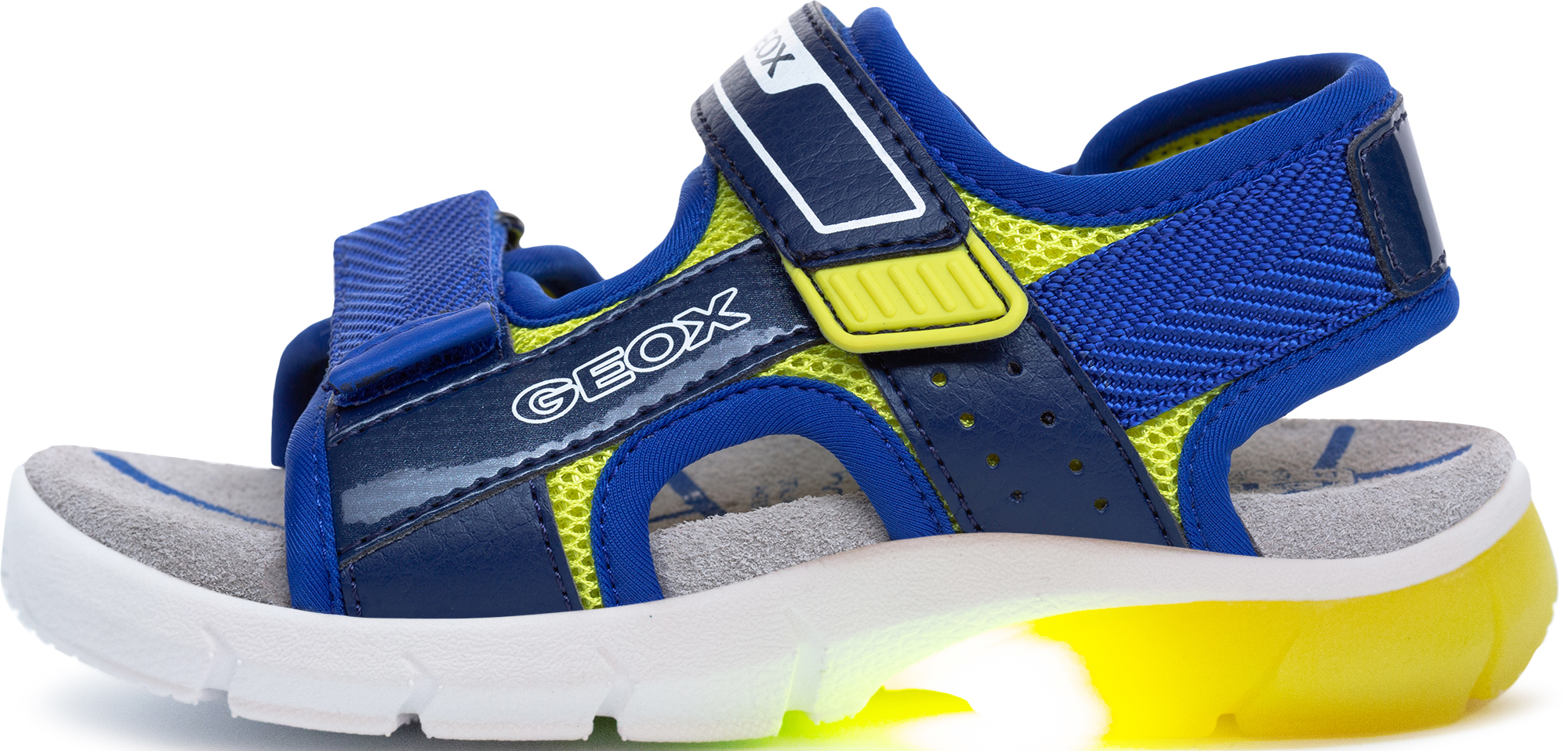 Geox Сандалии для мальчиков Geox Flexyper, размер 34 geox сандалии для мальчика geox