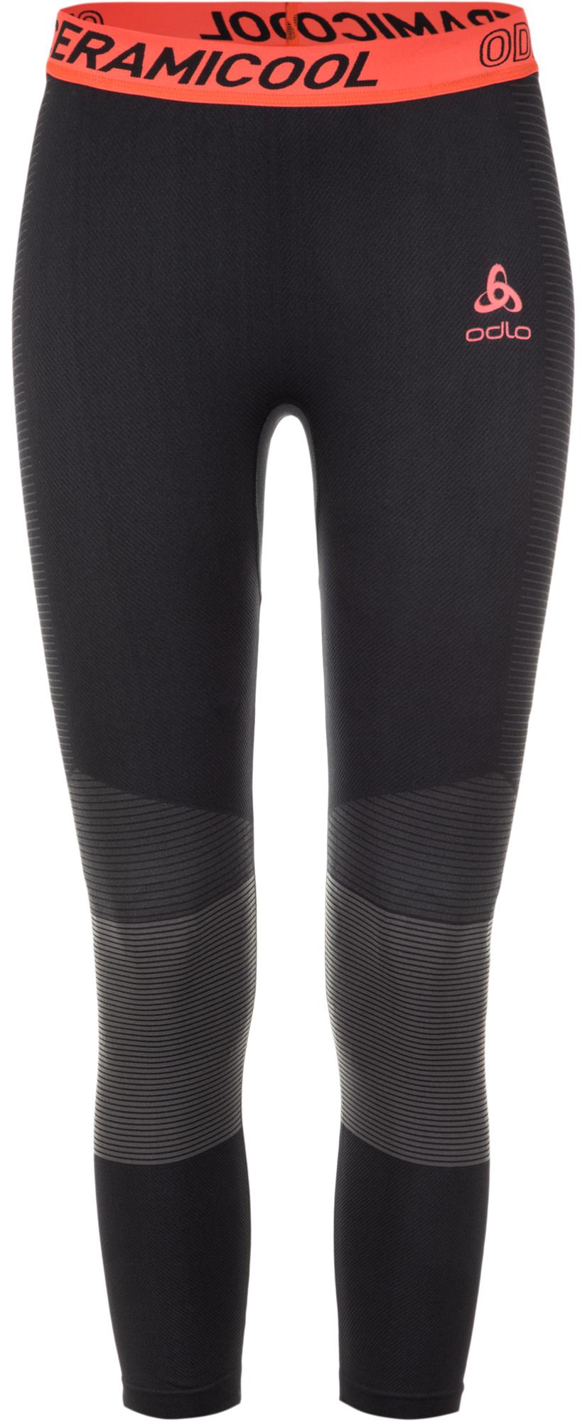 Odlo Легинсы женские Odlo Ceramicool Motion, размер 44-46 odlo шорты женские odlo 2 в 1 zeroweih размер 42 44