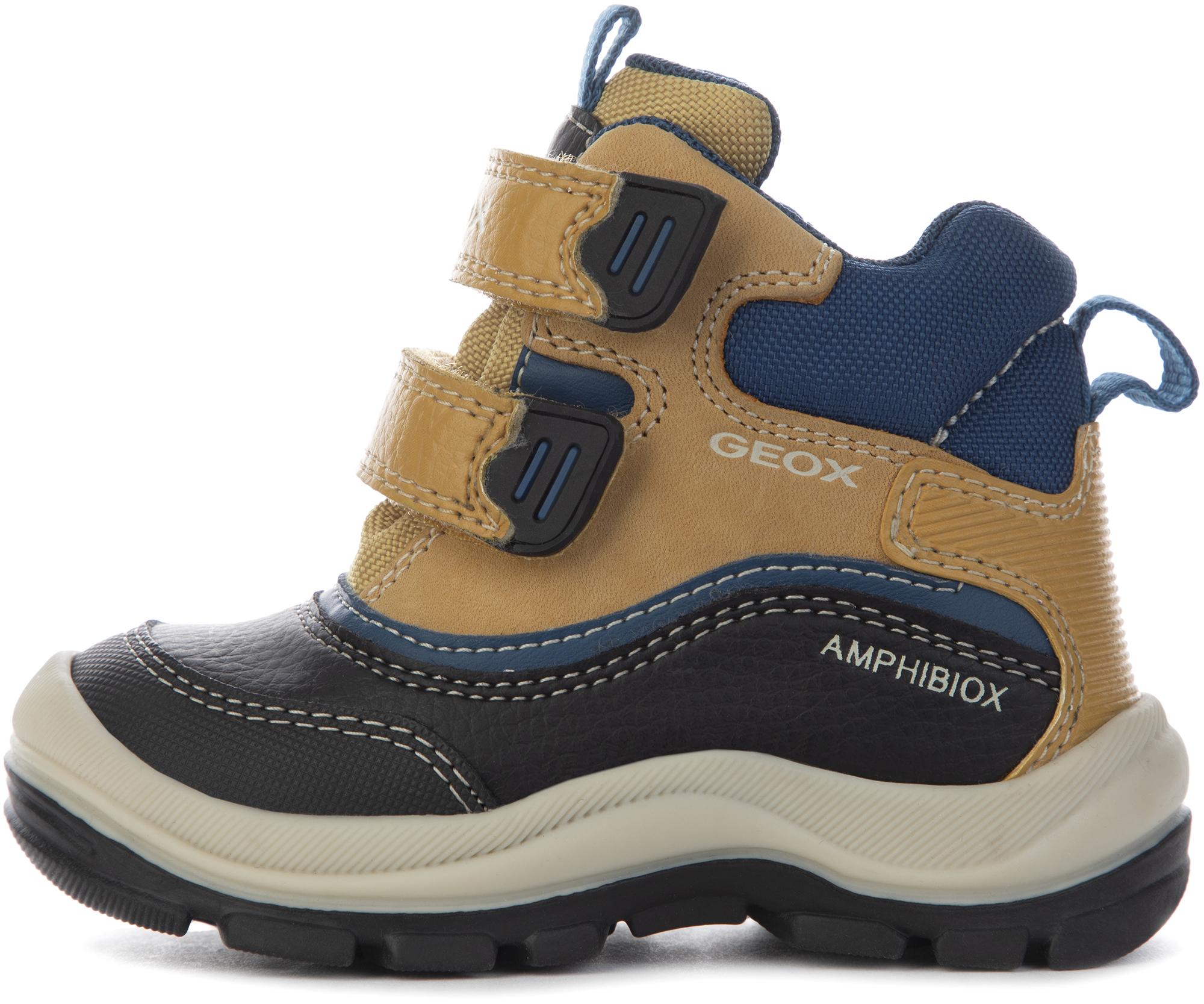 Geox Ботинки утепленные детские Flanfil, размер 27