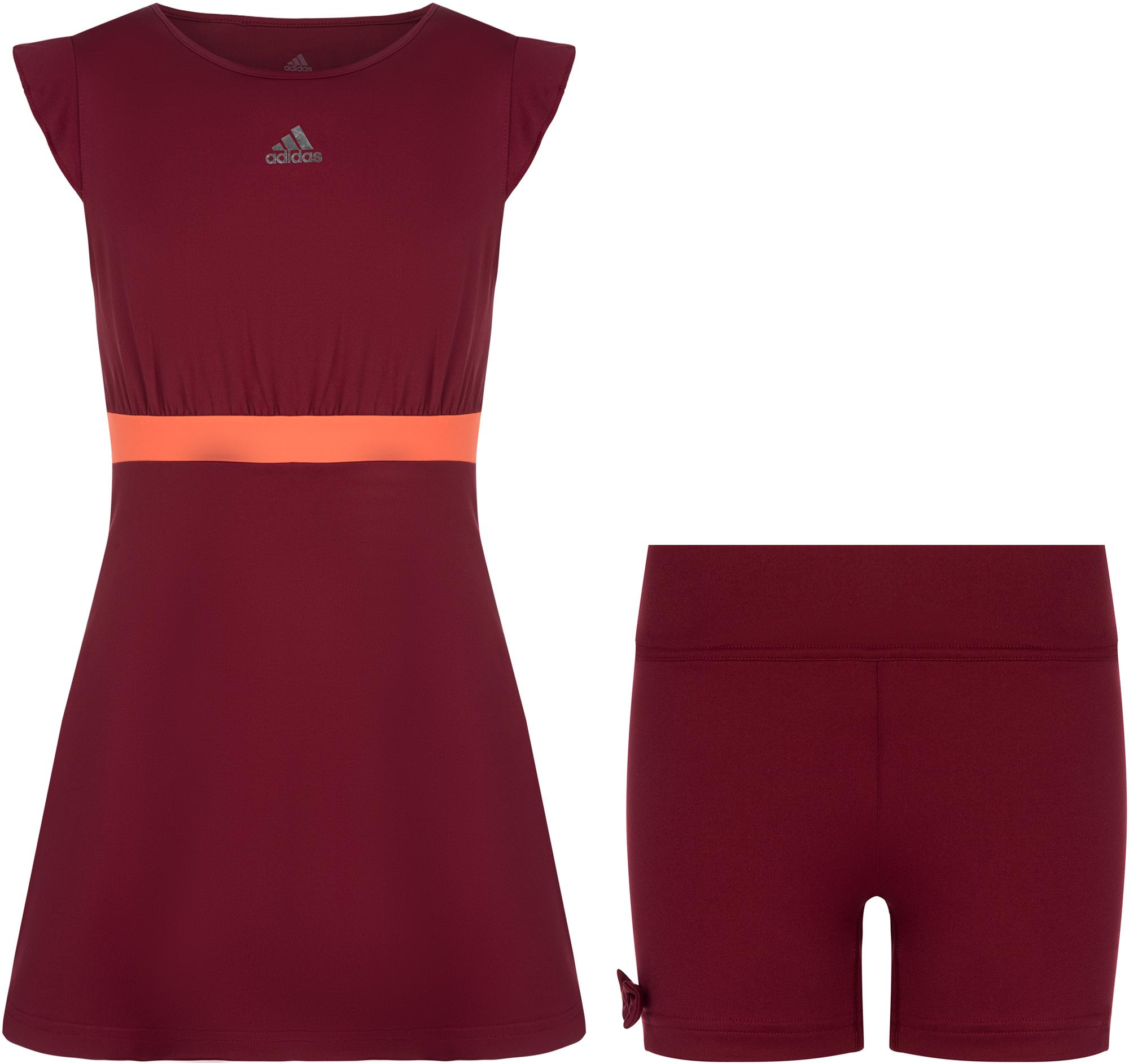Adidas Платье для девочек Adidas Ribbon, размер 152 платье ribbon ribbon mp002xw18vva