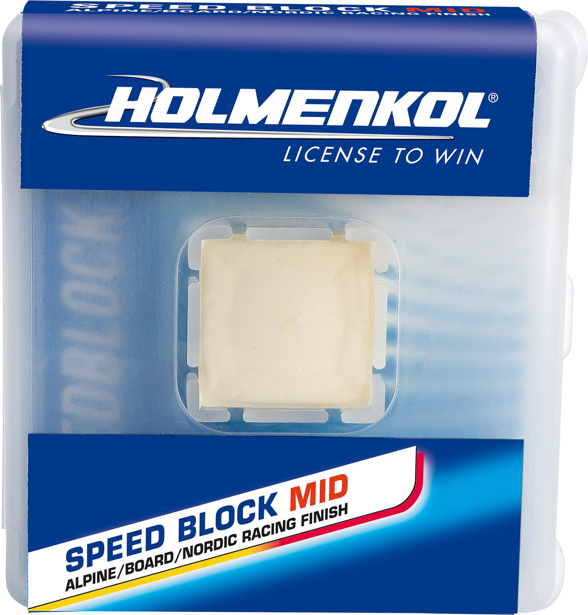 Holmenkol Порошок фторуглеродный для лыж и сноубордов HOLMENKOL Speed BlockMID