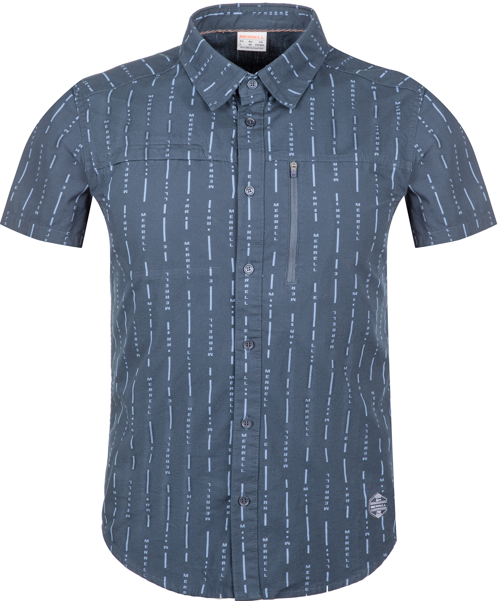 цена на Merrell Рубашка с коротким рукавом мужская Merrell, размер 48