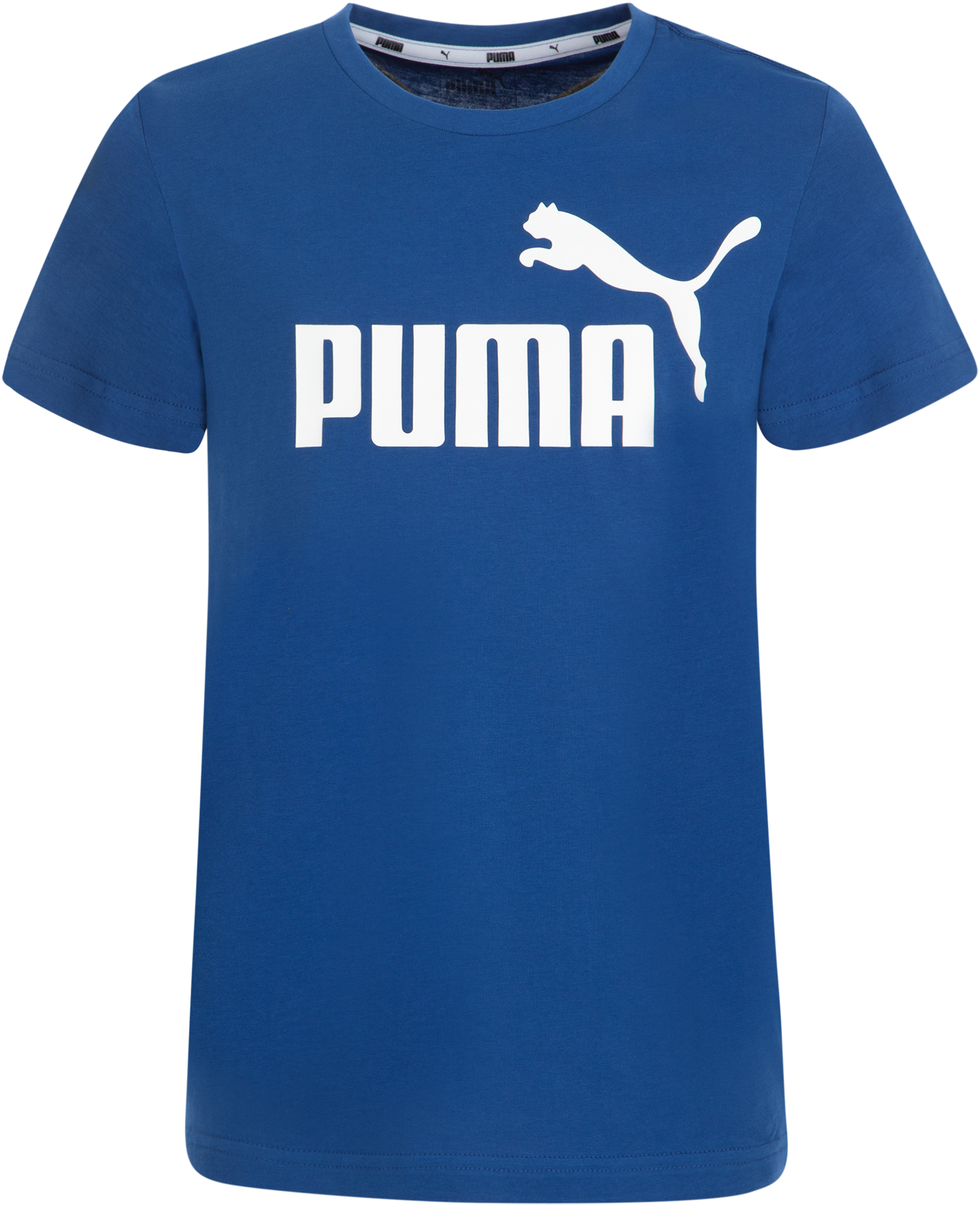 Puma Футболка для мальчиков Puma ESS Logo Tee B, размер 176 футболка женская puma evo tee цвет персиковый 57511231 размер m 44 46