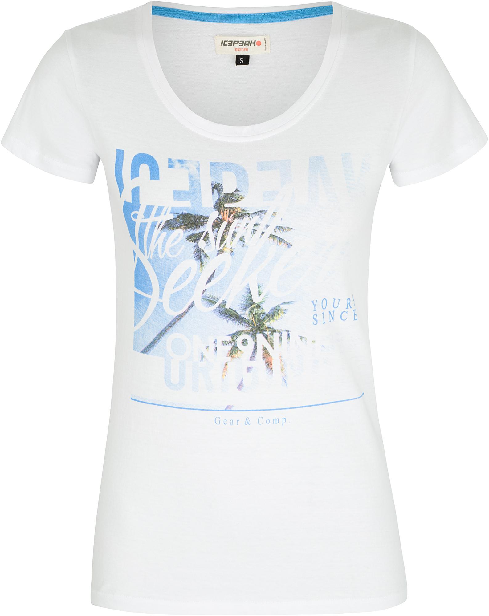 IcePeak Футболка женская IcePeak Marie, размер 50-52 футболка мужская icepeak цвет серый 757723689iv 810 размер m 50