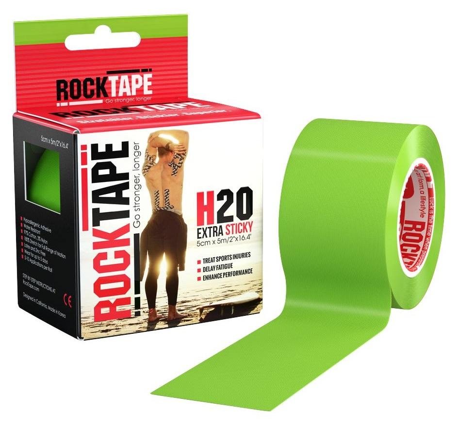 RockTape Кинезио-тейп 5 см х м, лайм