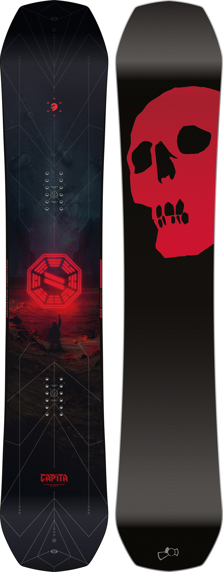 Capita THE BLACK SNOWBOARD OF DEATH (19-20)