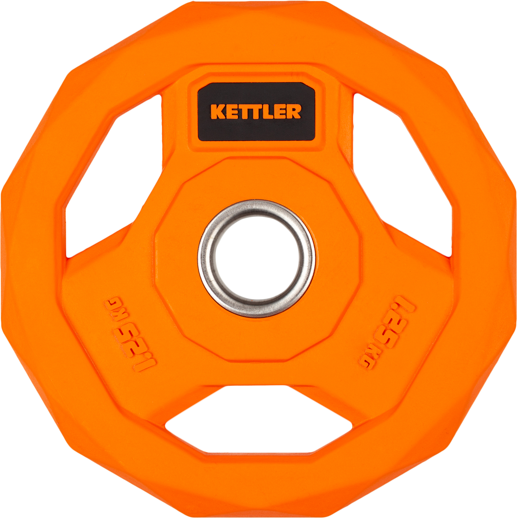 Kettler Блин стальной обрезиненный Kettler 1,25 кг дополнительная деталь всадник kettler basic 8382 920