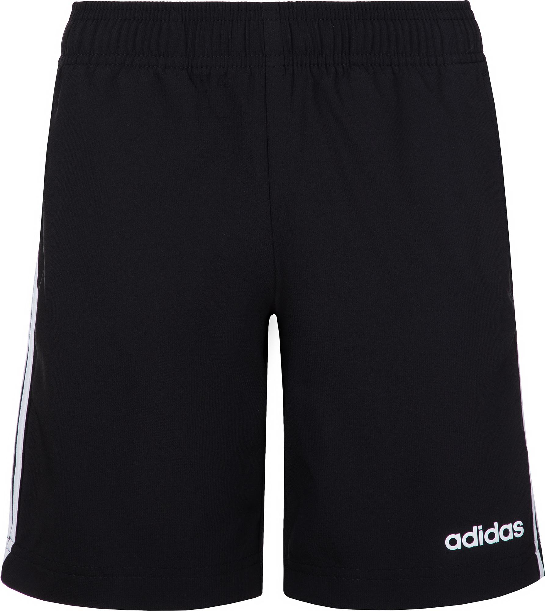 Adidas Шорты для мальчиков Adidas Essentials 3-Stripes, размер 164 шорты для мальчика adidas tiro17 wov shoy цвет черный ay2892 размер 128