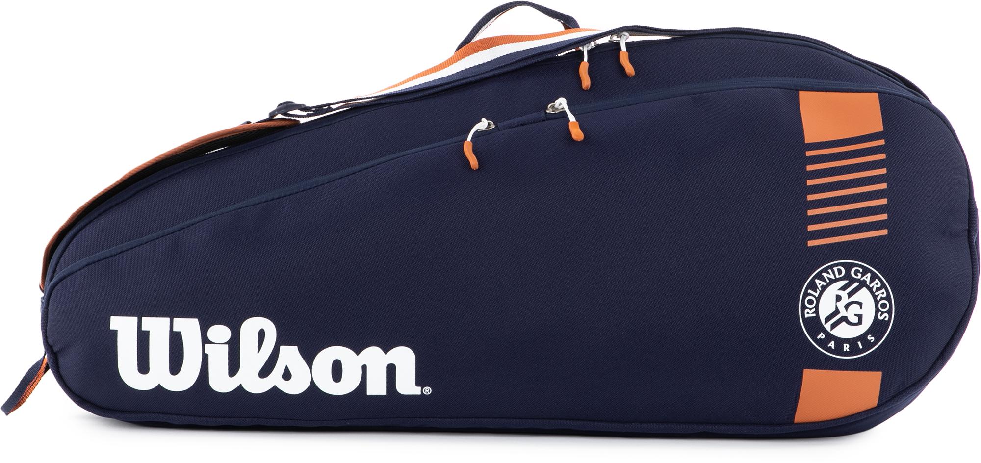 Wilson Сумка для 3 ракеток Wilson Fed Team 3 Pack сумка suncarry 3