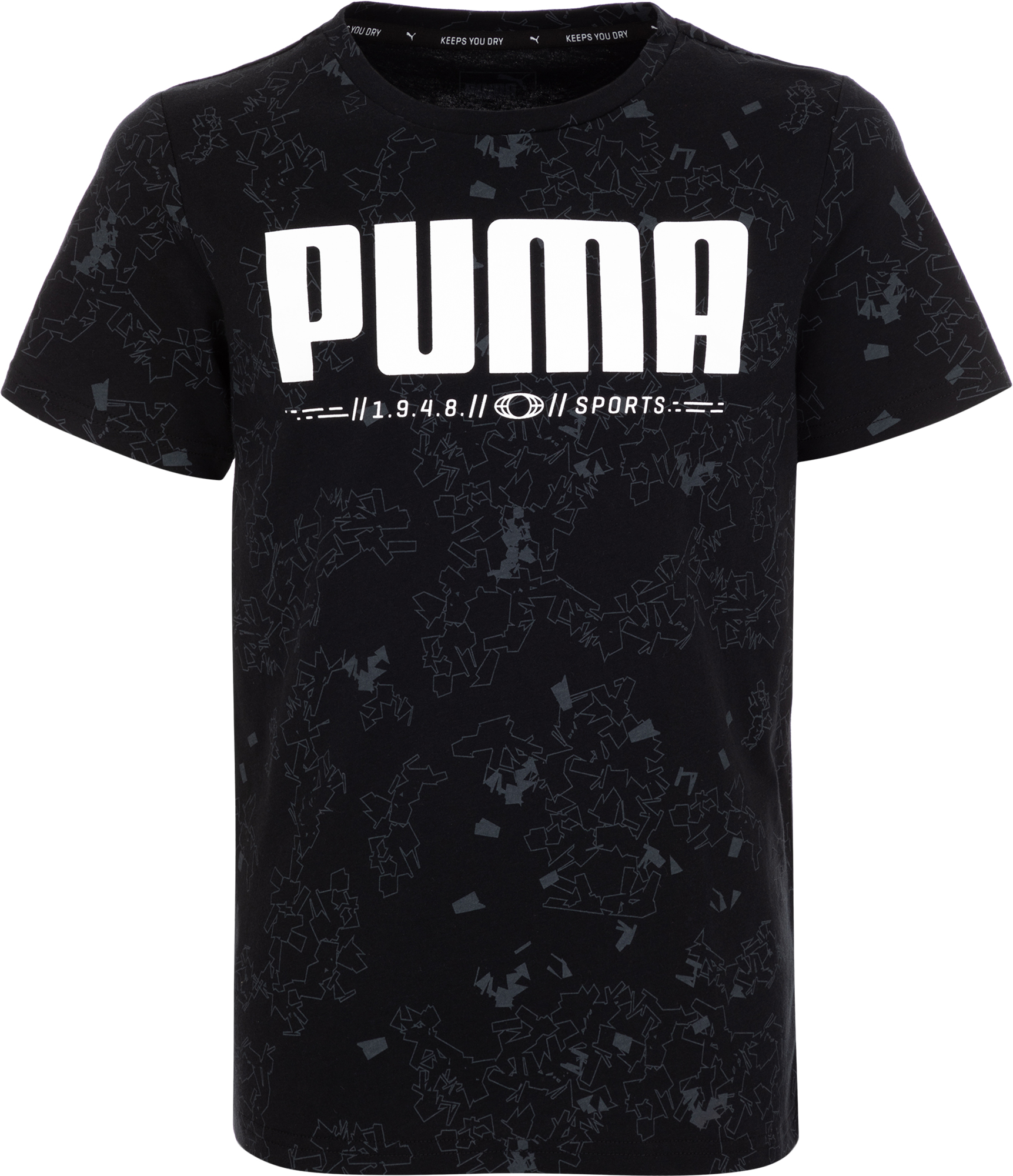 Puma Футболка для мальчиков Puma Active Tee AOP, размер 164