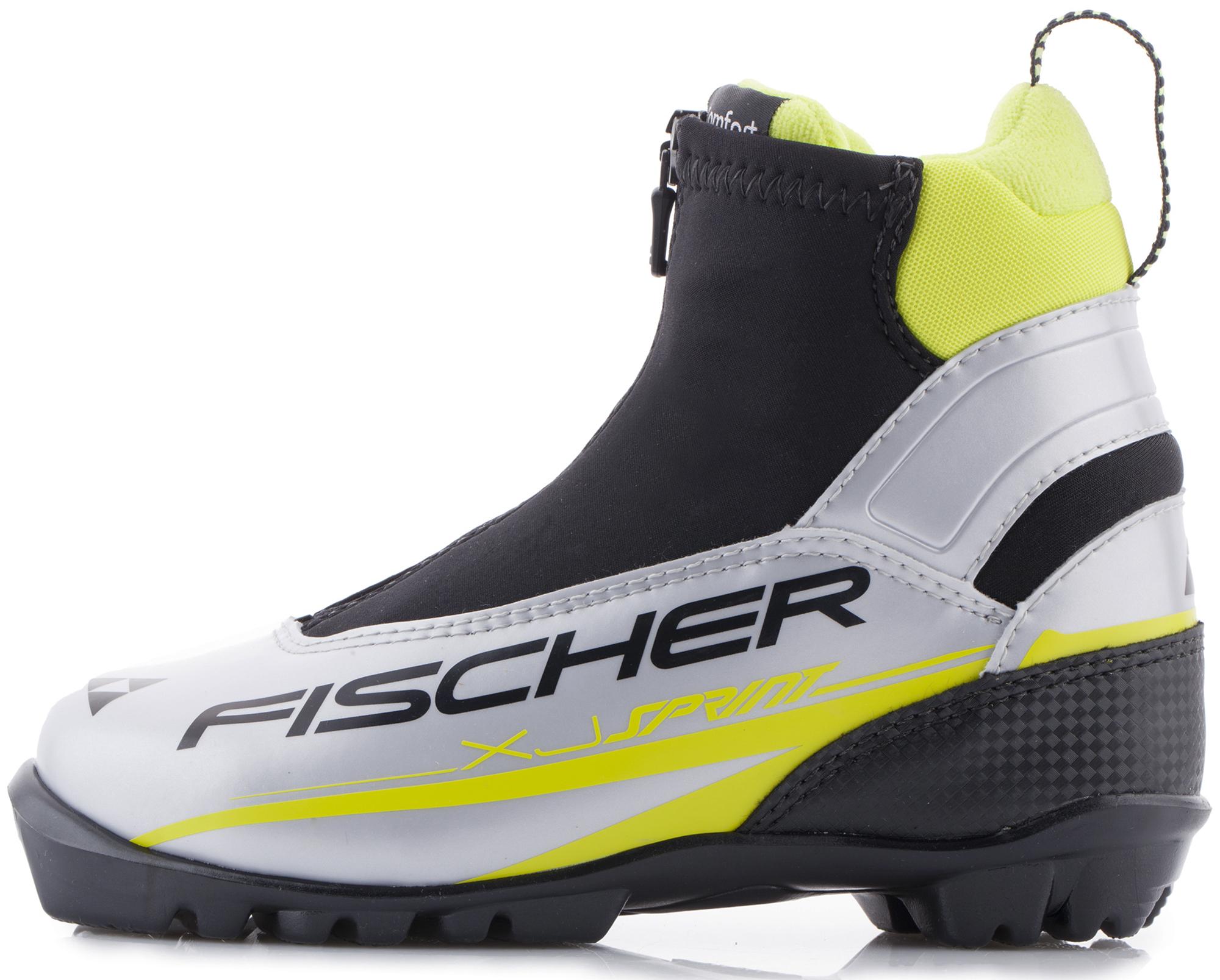 Fischer Ботинки для беговых лыж детские Fischer XJ Sprint цены