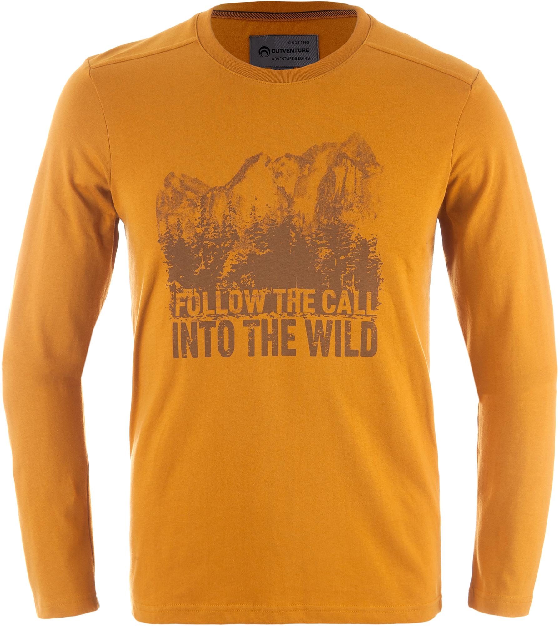 Outventure Футболка с длинным рукавом мужская Outventure футболка с длинным рукавом каникулы мари