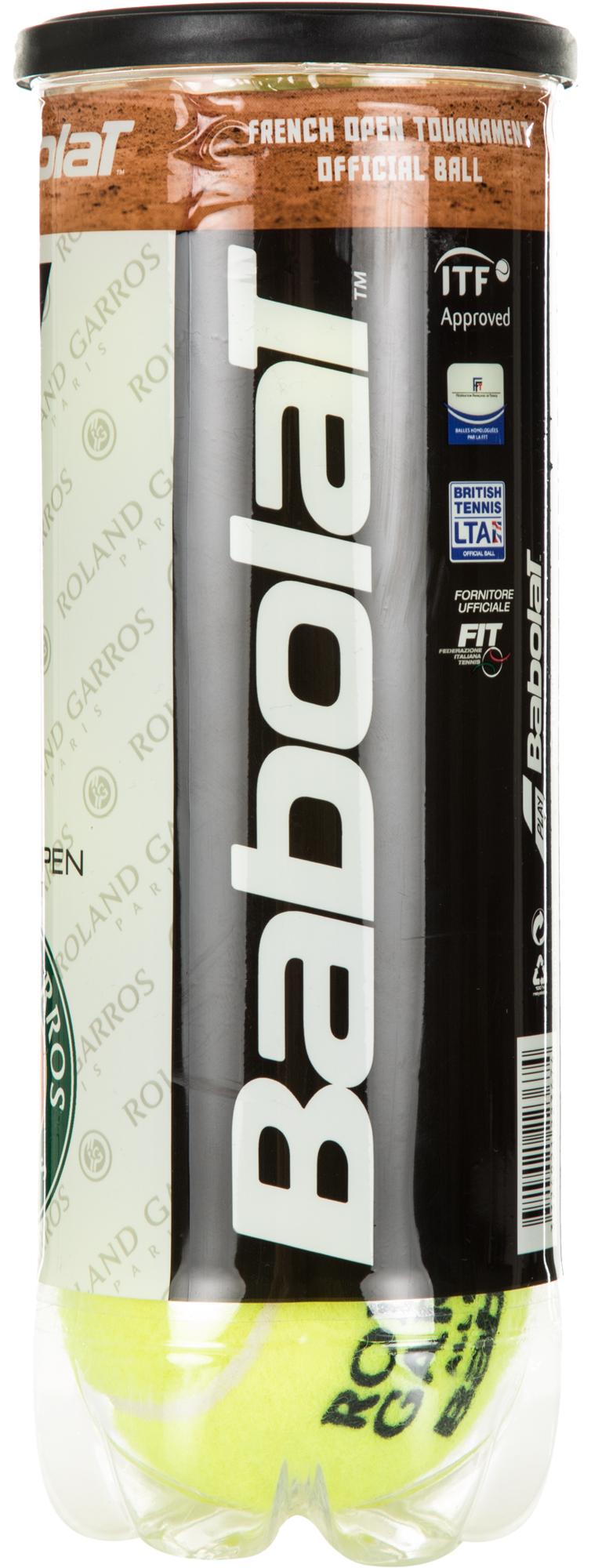 Babolat Набор теннисных мячей RG/FOAC X3
