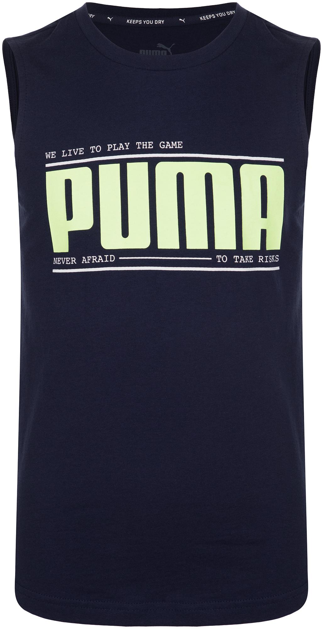 Фото - Puma Майка для мальчиков Puma, размер 152 майка спортивная puma puma pu053ewdzsv1