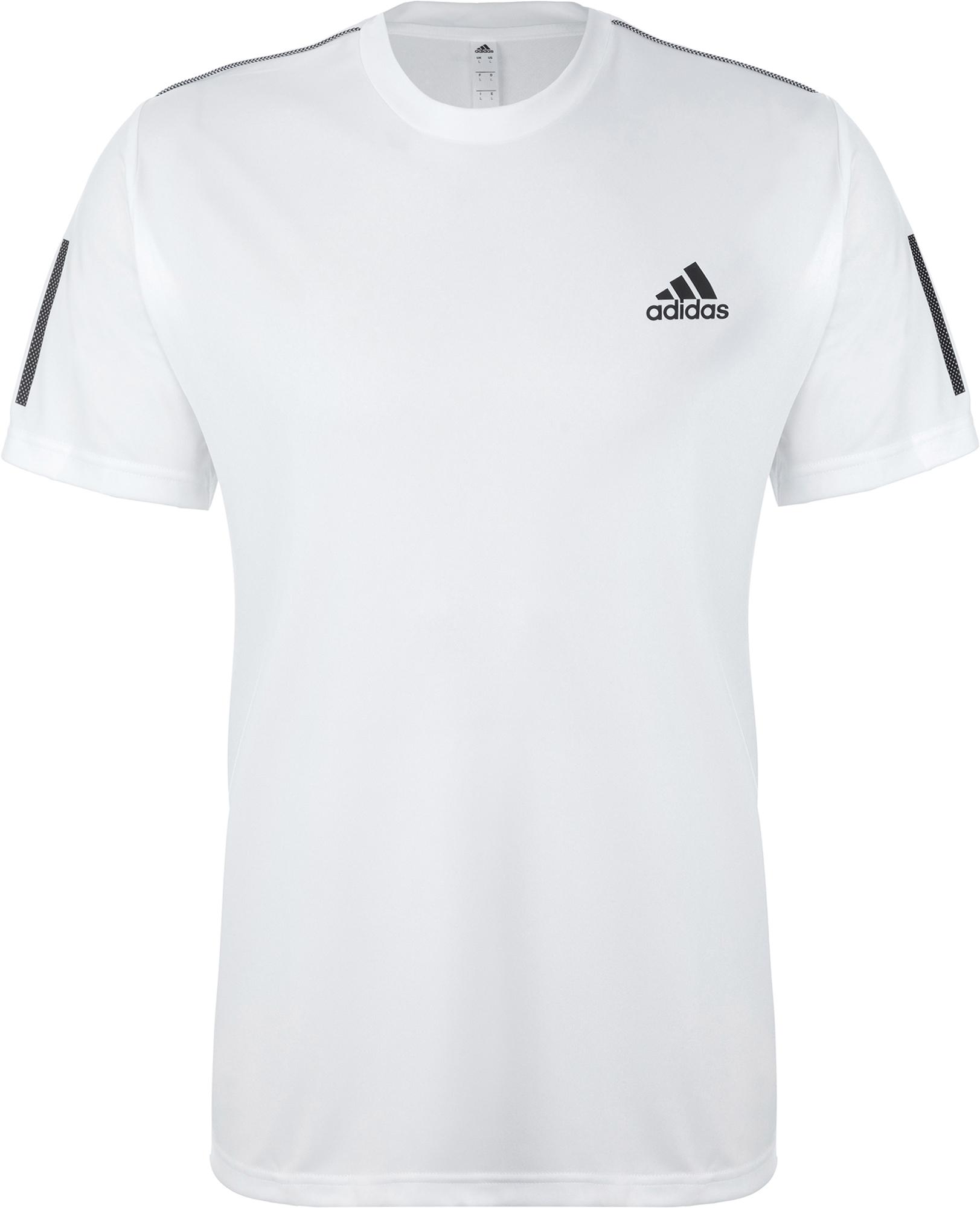 лучшая цена Adidas Футболка мужская Adidas 3-Stripes Club, размер L