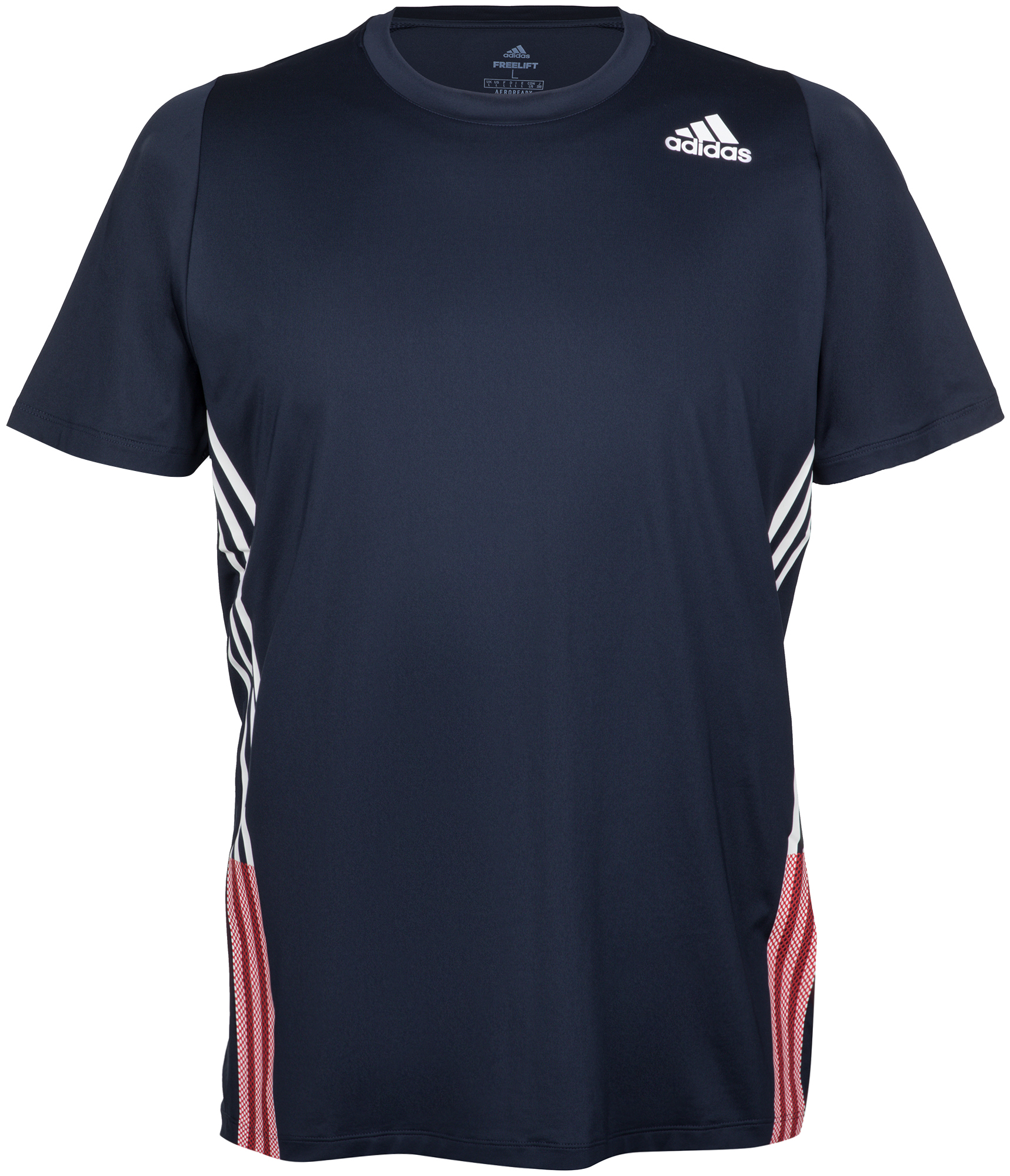 Adidas Футболка мужская Adidas FreeLift 3-Stripes, размер 48-50 adidas футболка freelift grad linkha