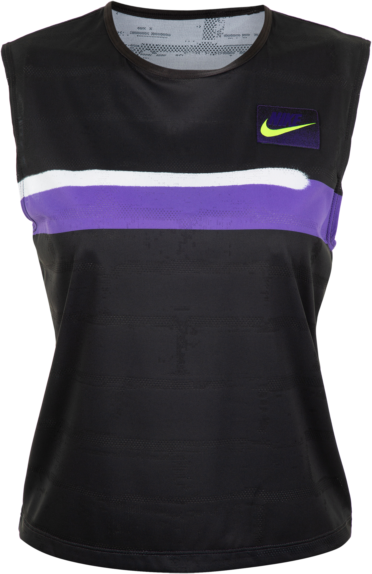 Nike Майка женская Nike Court Slam, размер 46-48 nike майка женская nike air размер 46 48