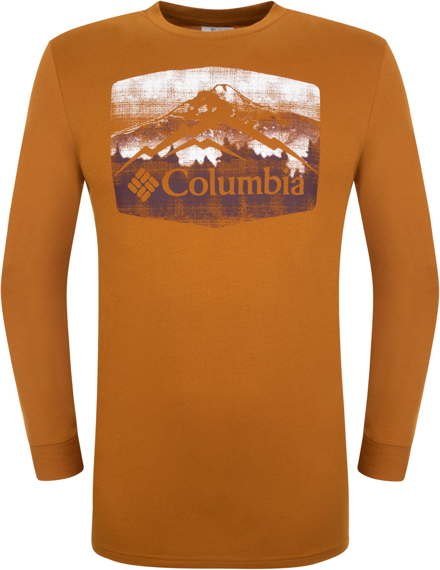 Columbia Футболка с длинным рукавом мужская Columbia Ranger River, размер 56-58 columbia футболка с длинным рукавом мужская columbia lascaux caves
