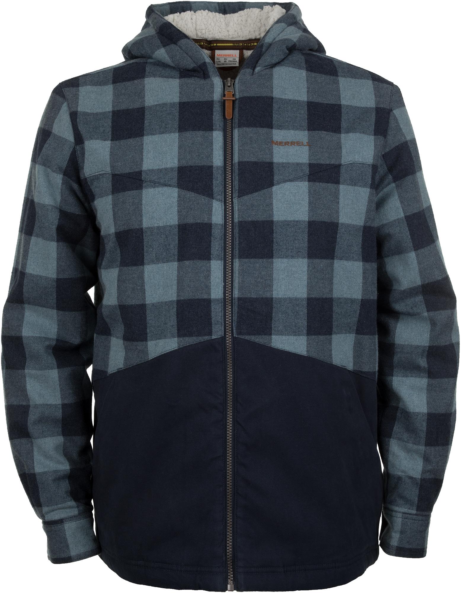 Merrell Рубашка с длинным рукавом мужская Merrell, размер 52 цены онлайн