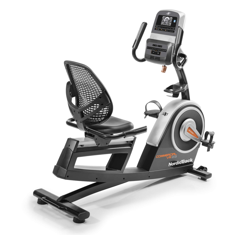 NordicTrack Велотренажер горизонтальный Commercial VR21 велотренажер superweigh коммерческий ug 7020