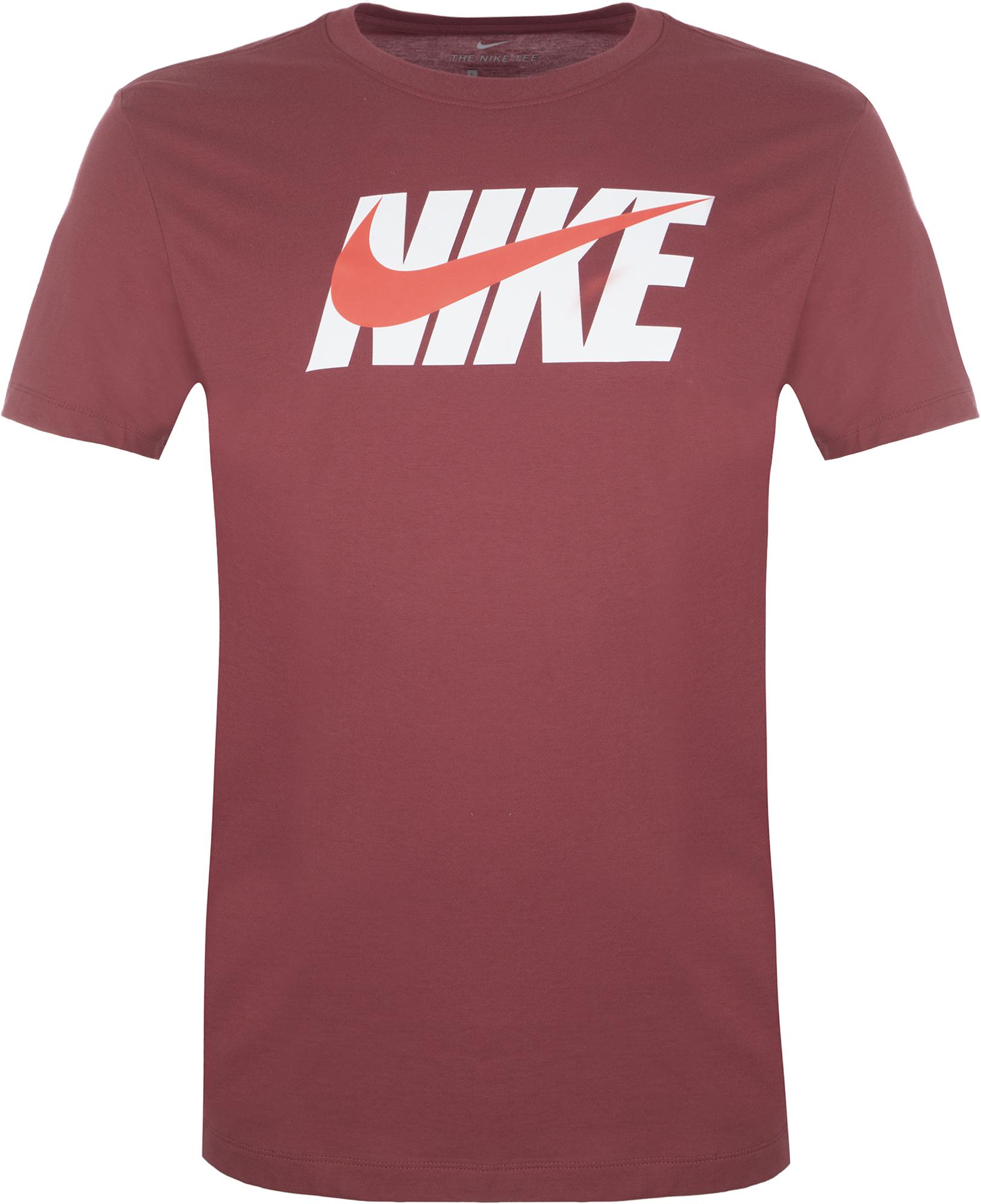 Nike Футболка мужская Nike, размер 50-52 nike футболка мужская nike cool miler