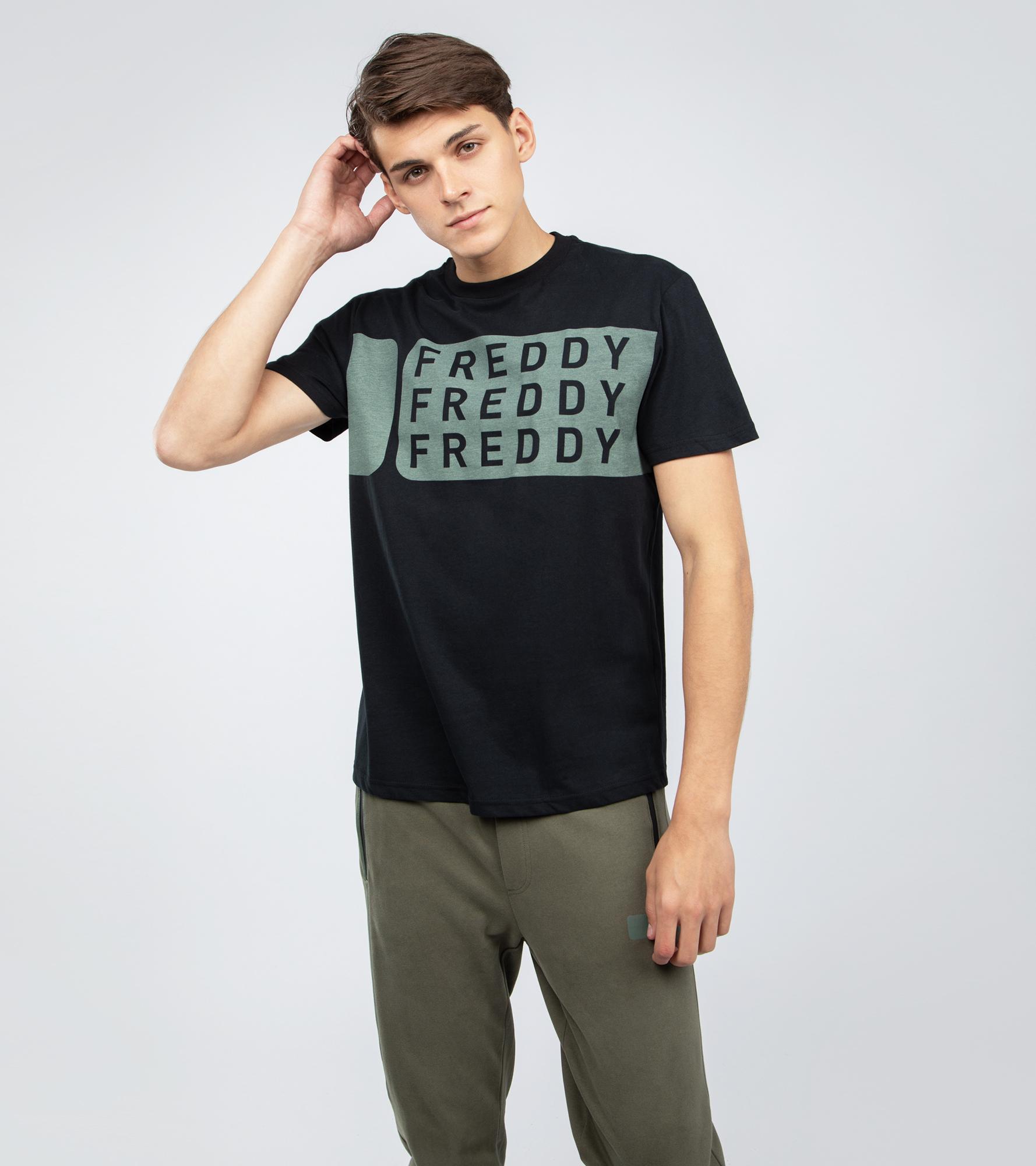 цены на Freddy Футболка мужская Freddy, размер 52-54  в интернет-магазинах