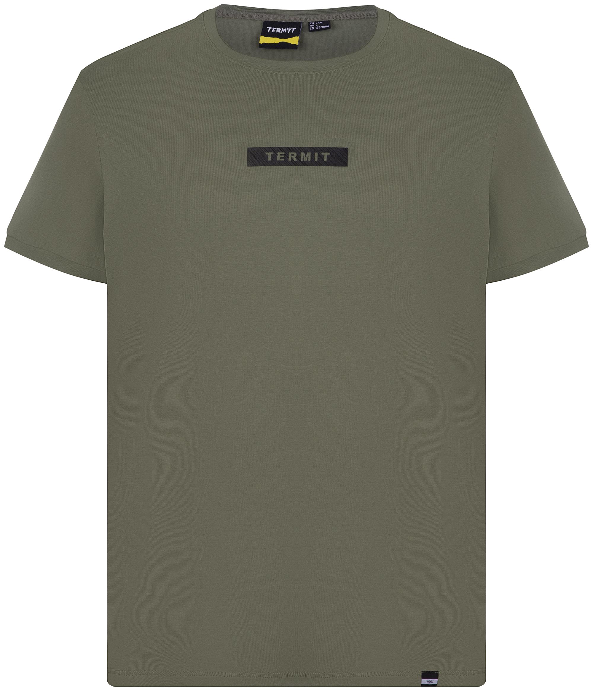 Termit Футболка мужская Termit, размер 54 футболка мужская mavi цвет белый 065283 620 размер xxl 54