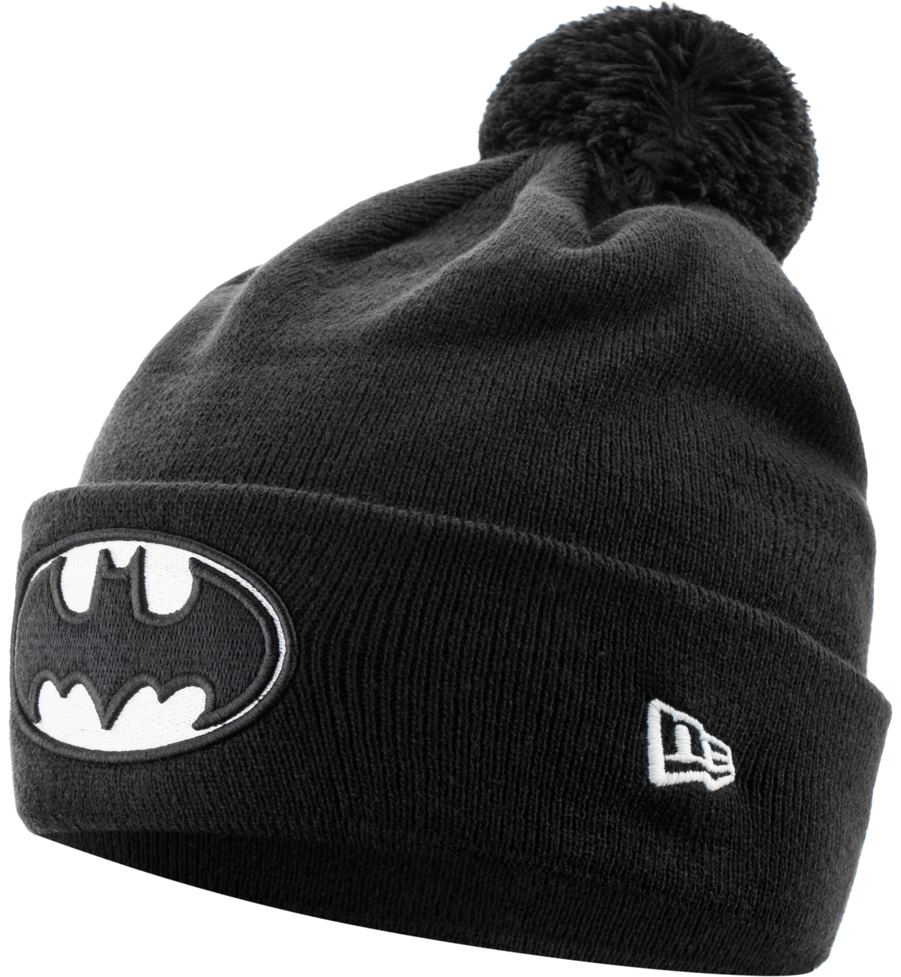 New Era Шапка New Era Cuff Bobble Batman new era шапка для мальчиков new era ne cuff pom размер 54 55