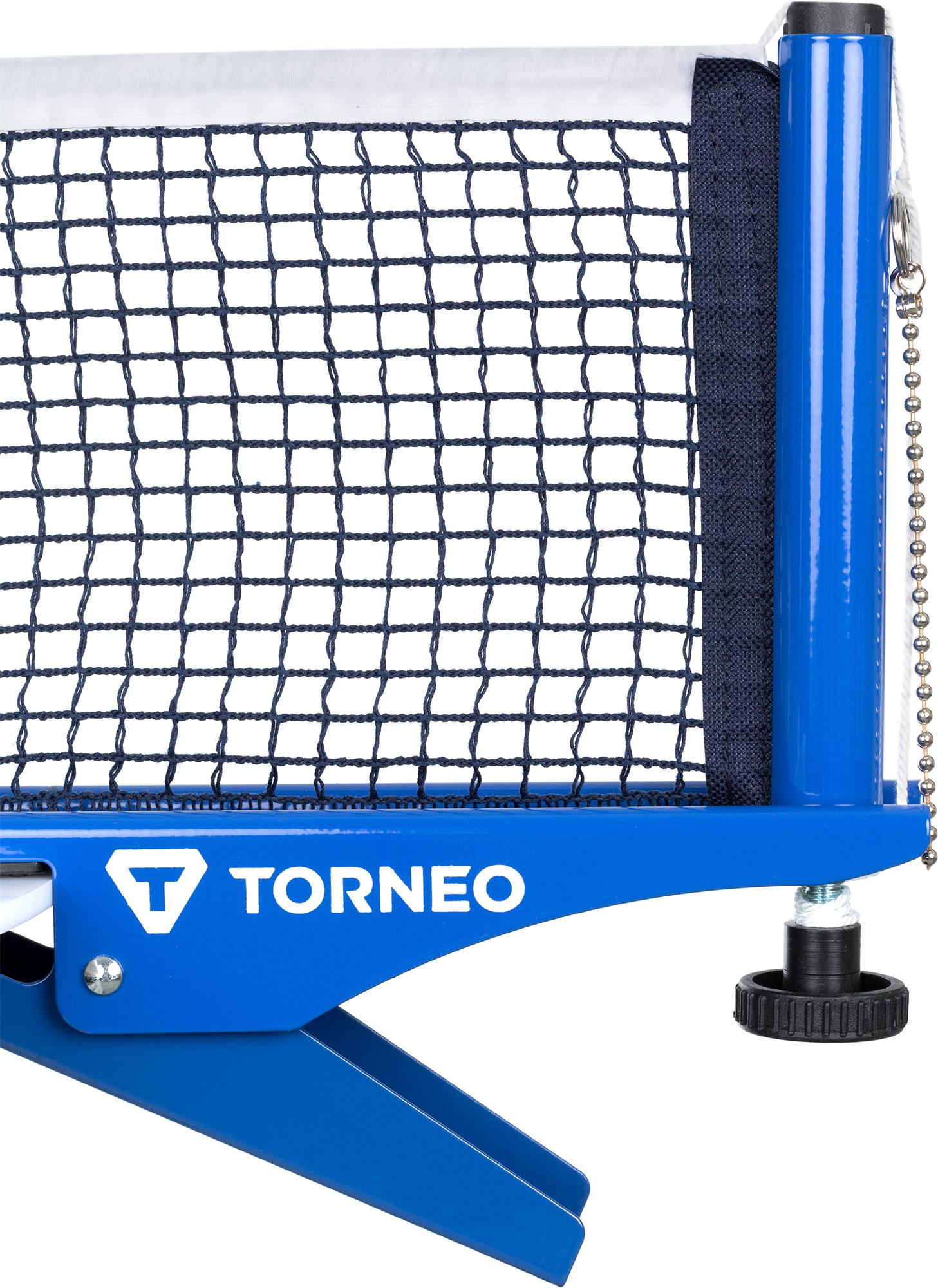 Torneo Сетка для настольного тенниса с креплением Torneo, размер Без размера спортивный инвентарь next сетка для настольного тенниса t0013pe