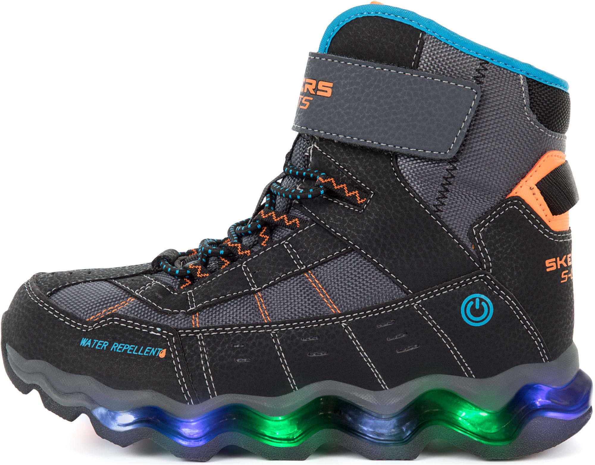 Skechers Ботинки утепленные для мальчиков Turbowave-Polar Rush, размер 34,5