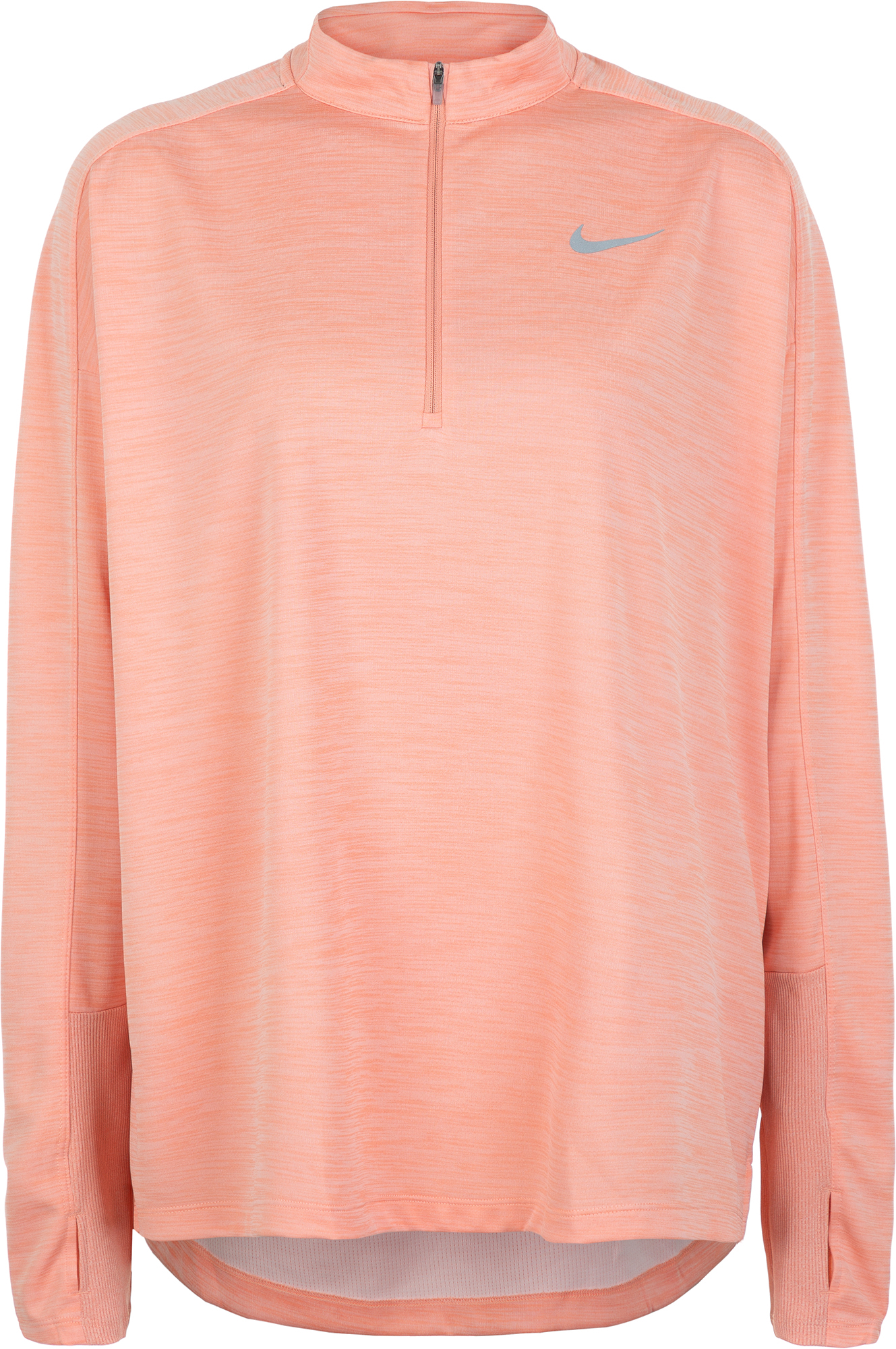 Nike Лонгслив женский Pacer, размер 56-58