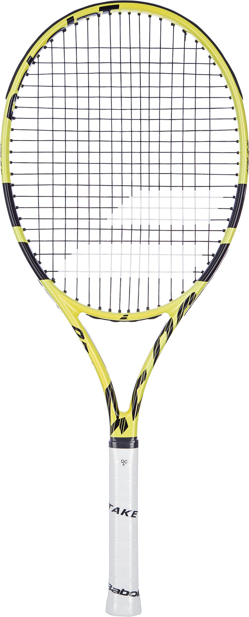 Babolat Ракетка для большого тенниса детская Babolat AERO JUNIOR 26 babolat набор мячей для большого тенниса babolat championship x3 размер без размера
