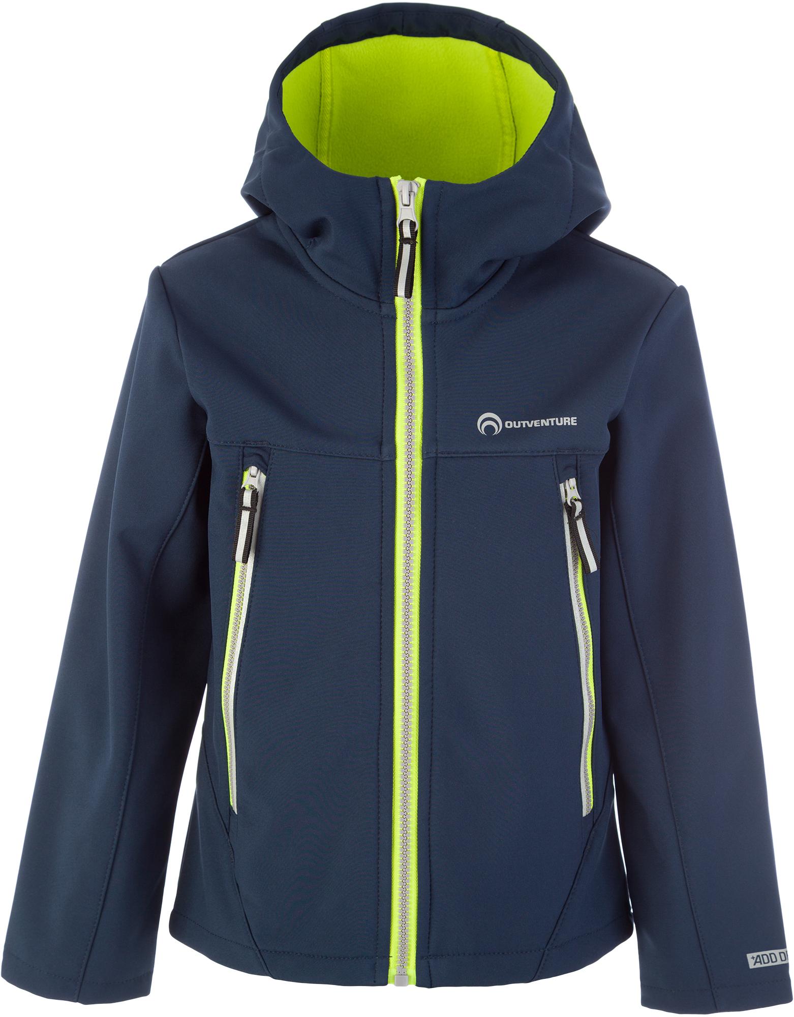 Outventure Куртка софт-шелл для мальчиков Outventure, размер 122