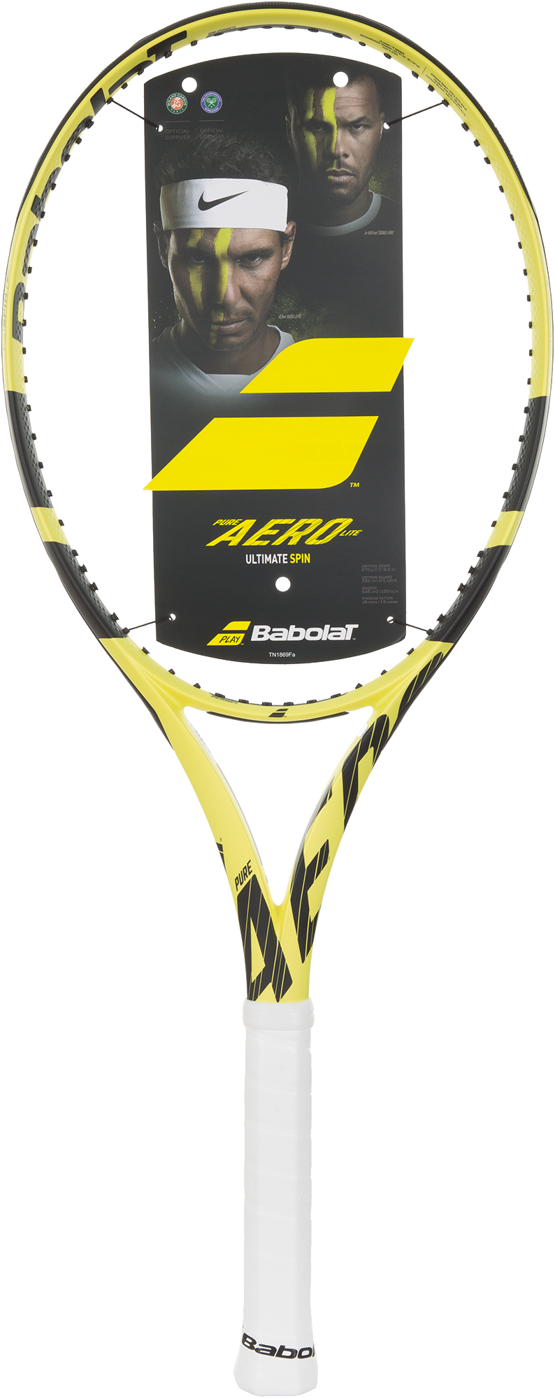 Babolat Ракетка для большого тенниса Babolat Pure Aero Lite babolat набор мячей для большого тенниса babolat orange x3 размер без размера
