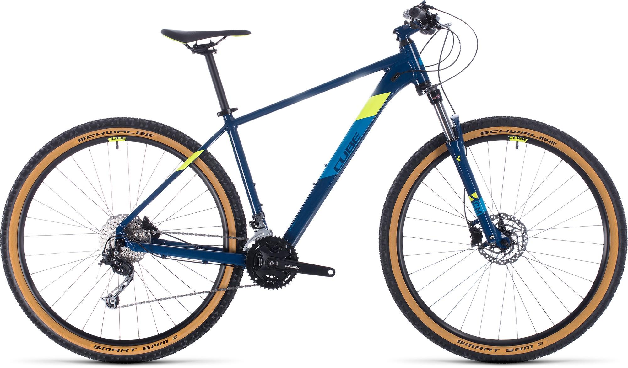 Cube Велосипед горный CUBE Aim Sl велосипед cube hyde 2018