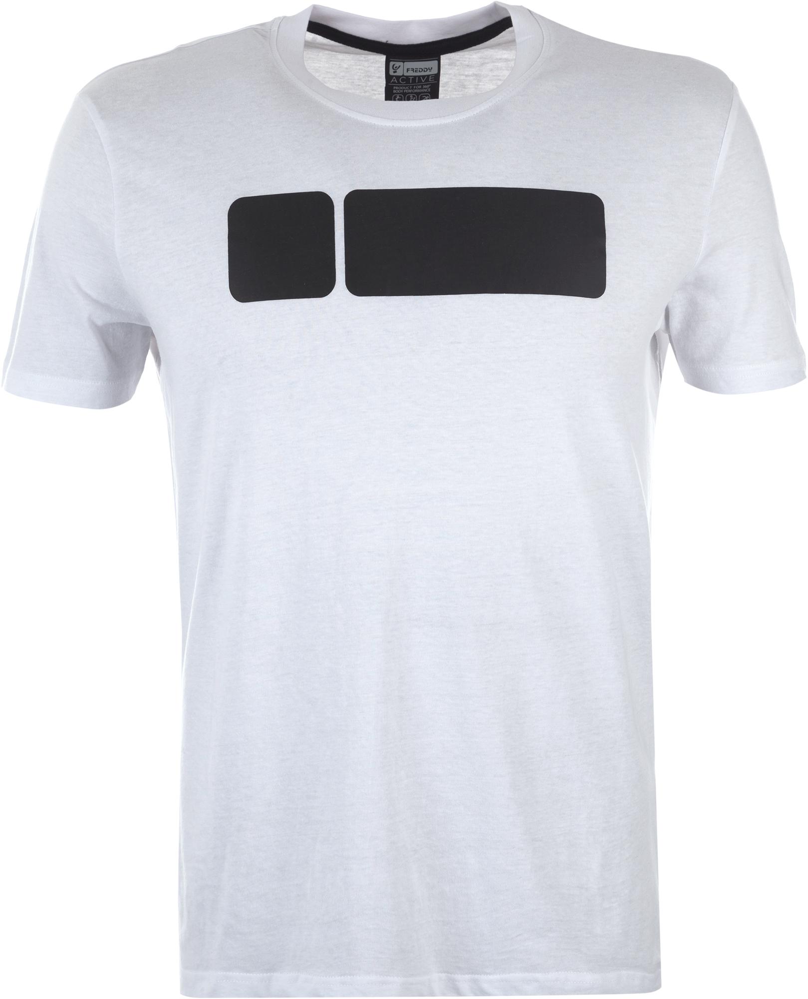 все цены на Freddy Футболка мужская Freddy Basic Cotton, размер 52-54 в интернете
