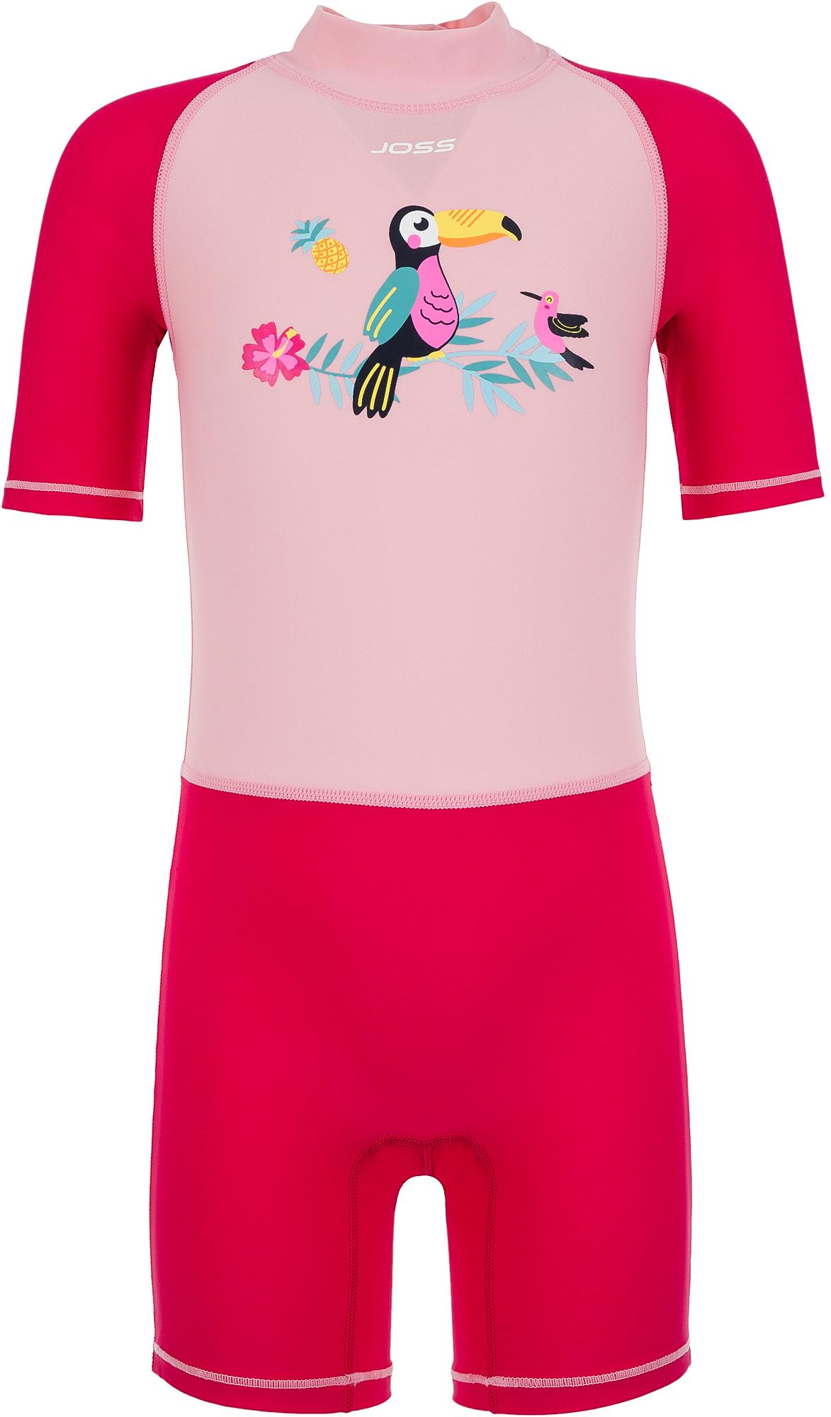 Joss Купальный костюм для девочек Joss, размер 122